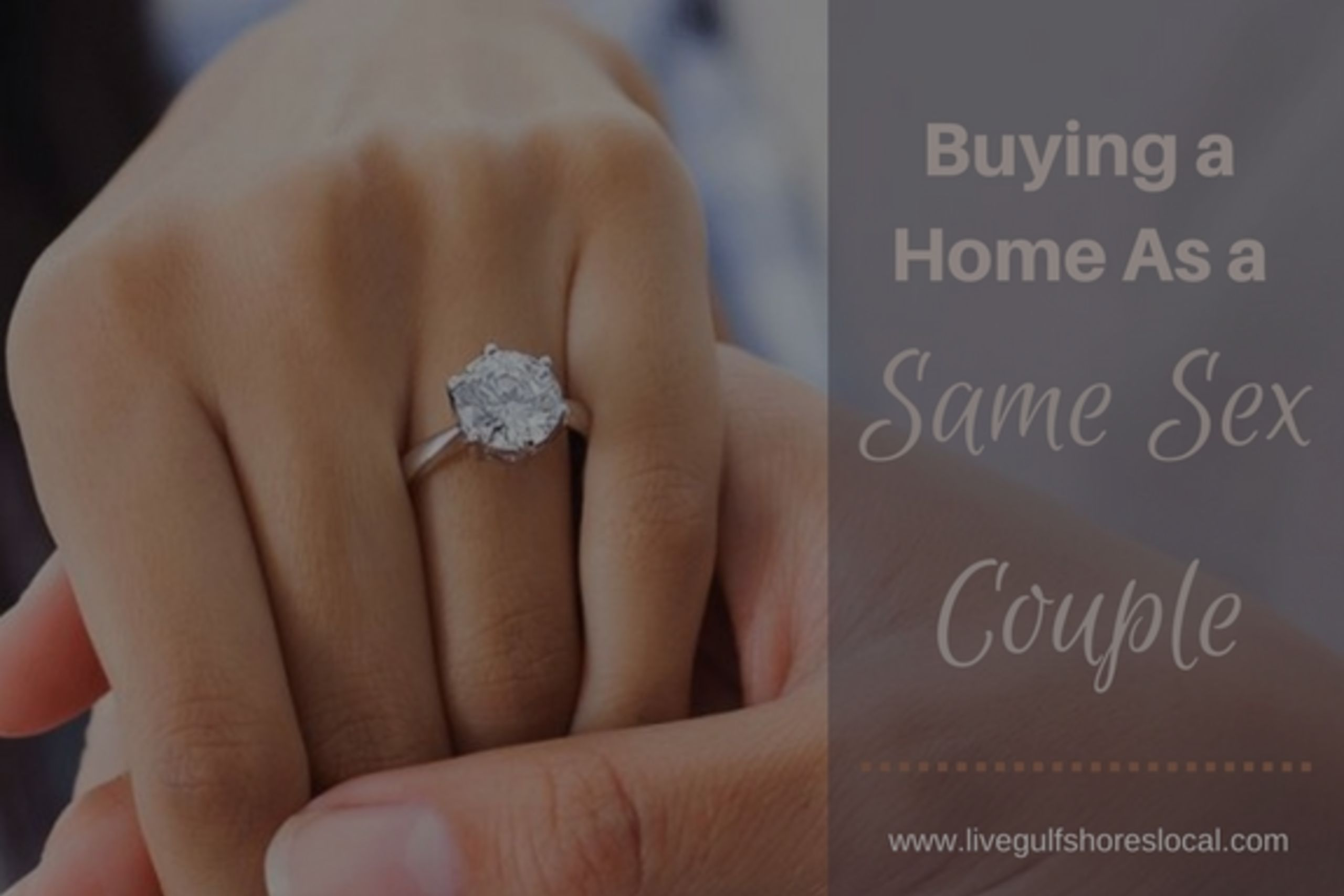 Buying a Home As a Same Sex Couple
