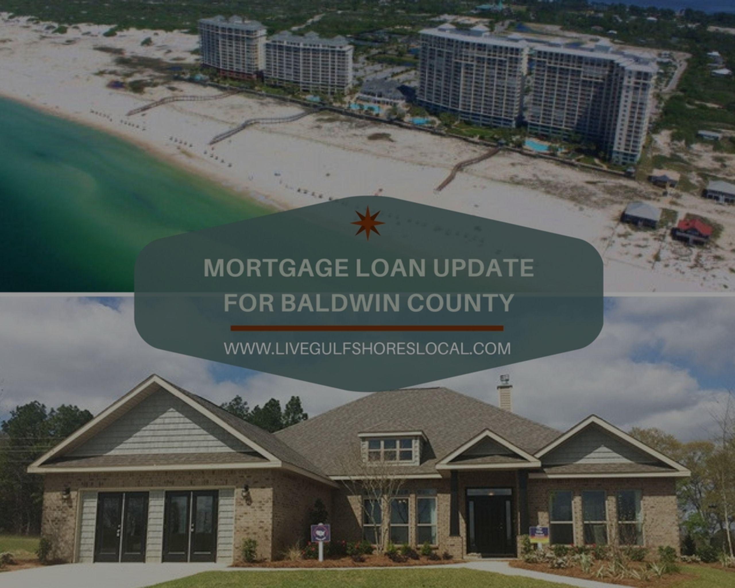 Mortgage Loan Update for Baldwin County – 1/17/19