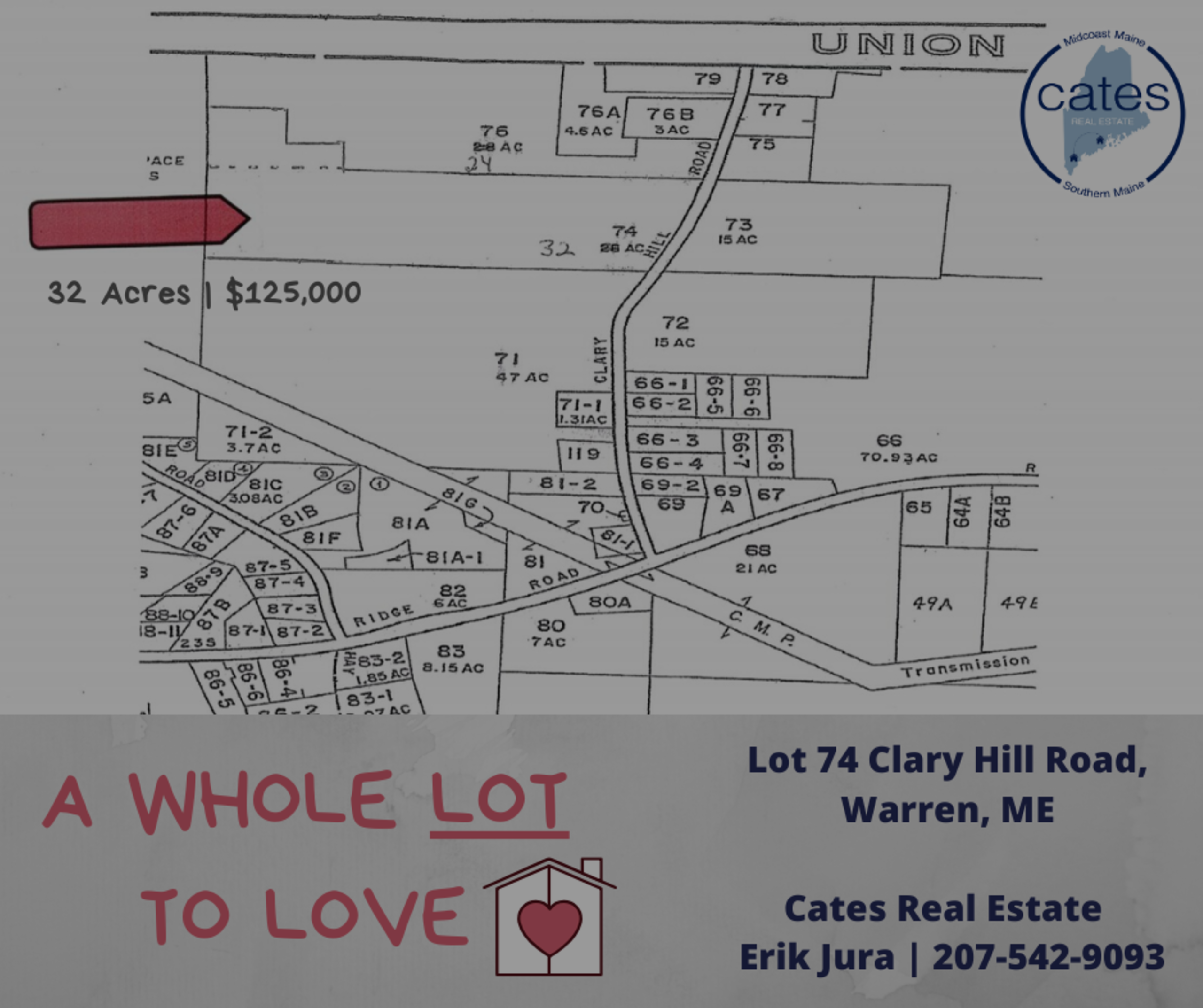 Lot 74 Clary Hill Road, Warren