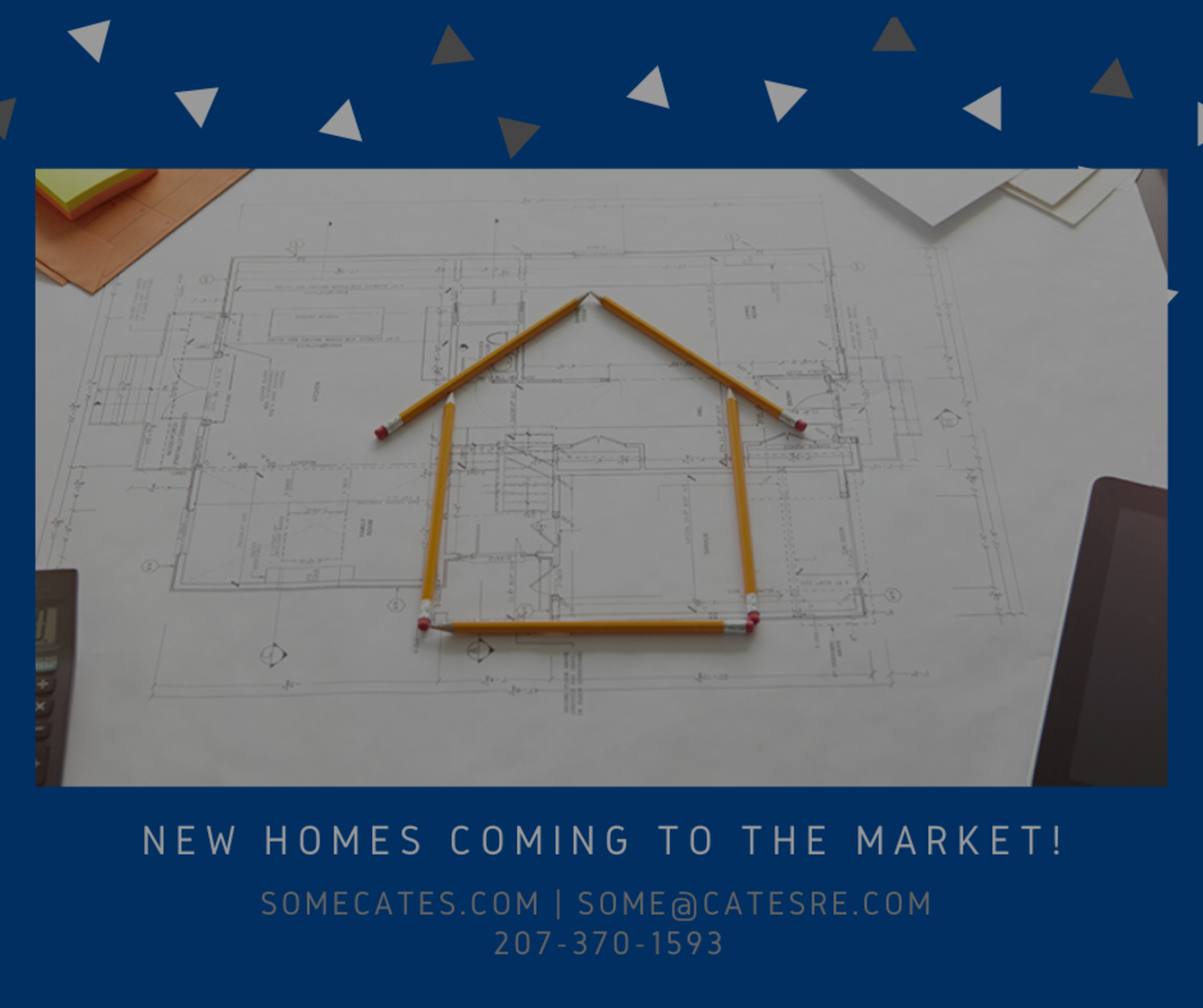 New Homes Coming to The Market