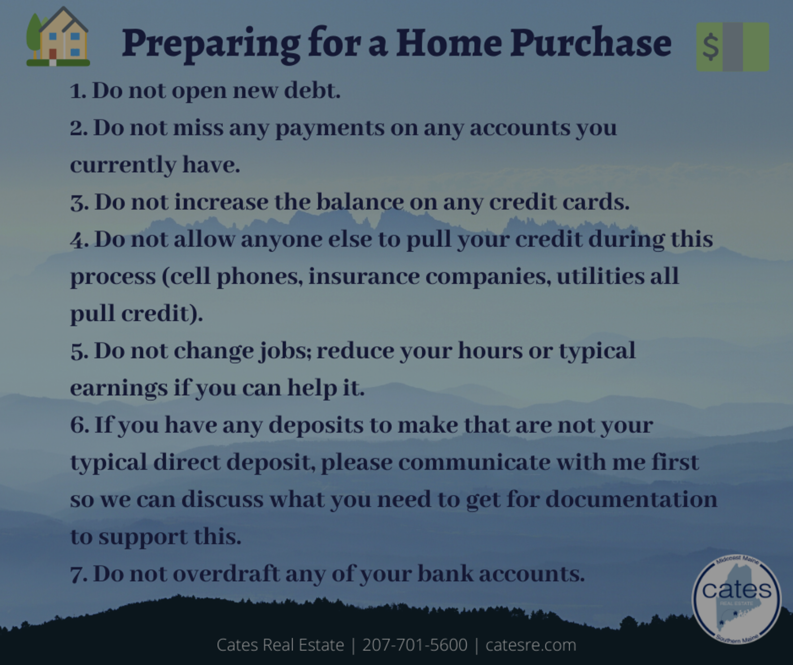 Preparing for a Home Purchase