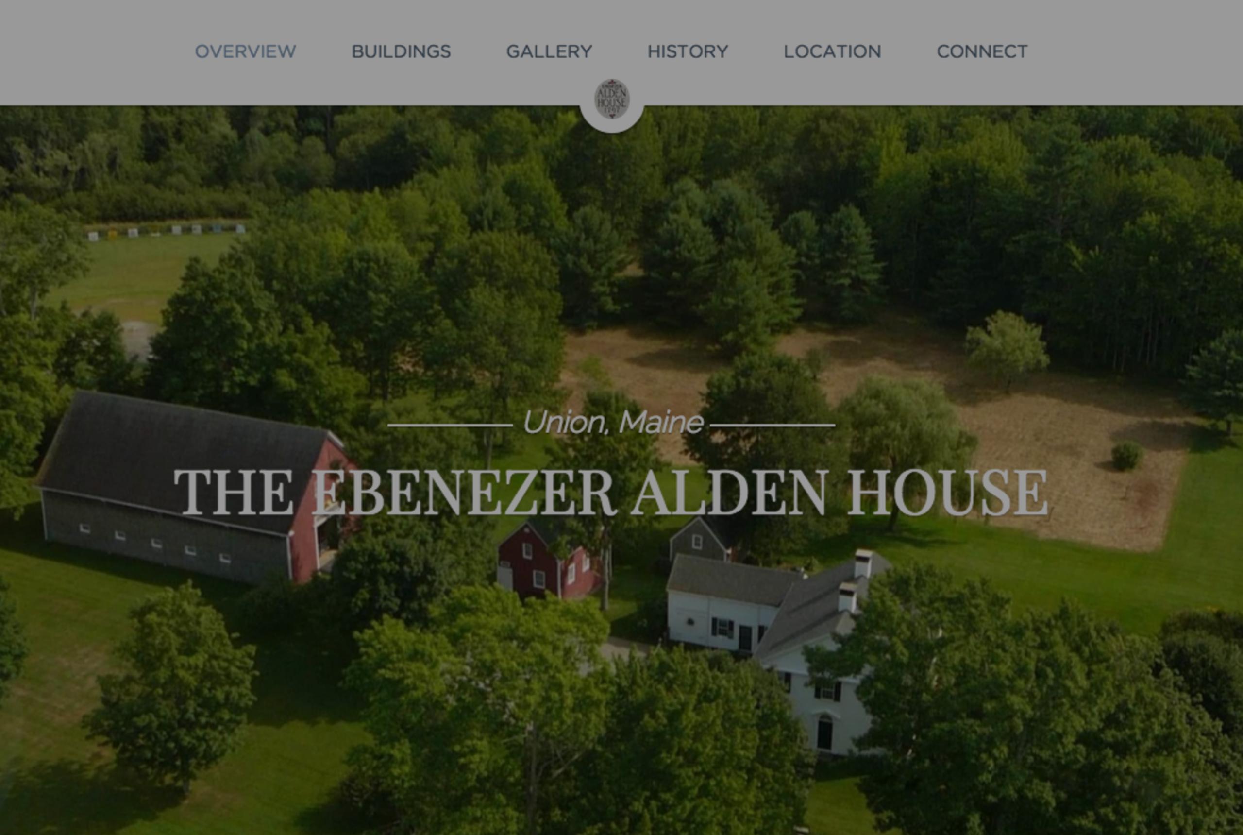 New Property Website Released: EbenezerAldenHouse.com