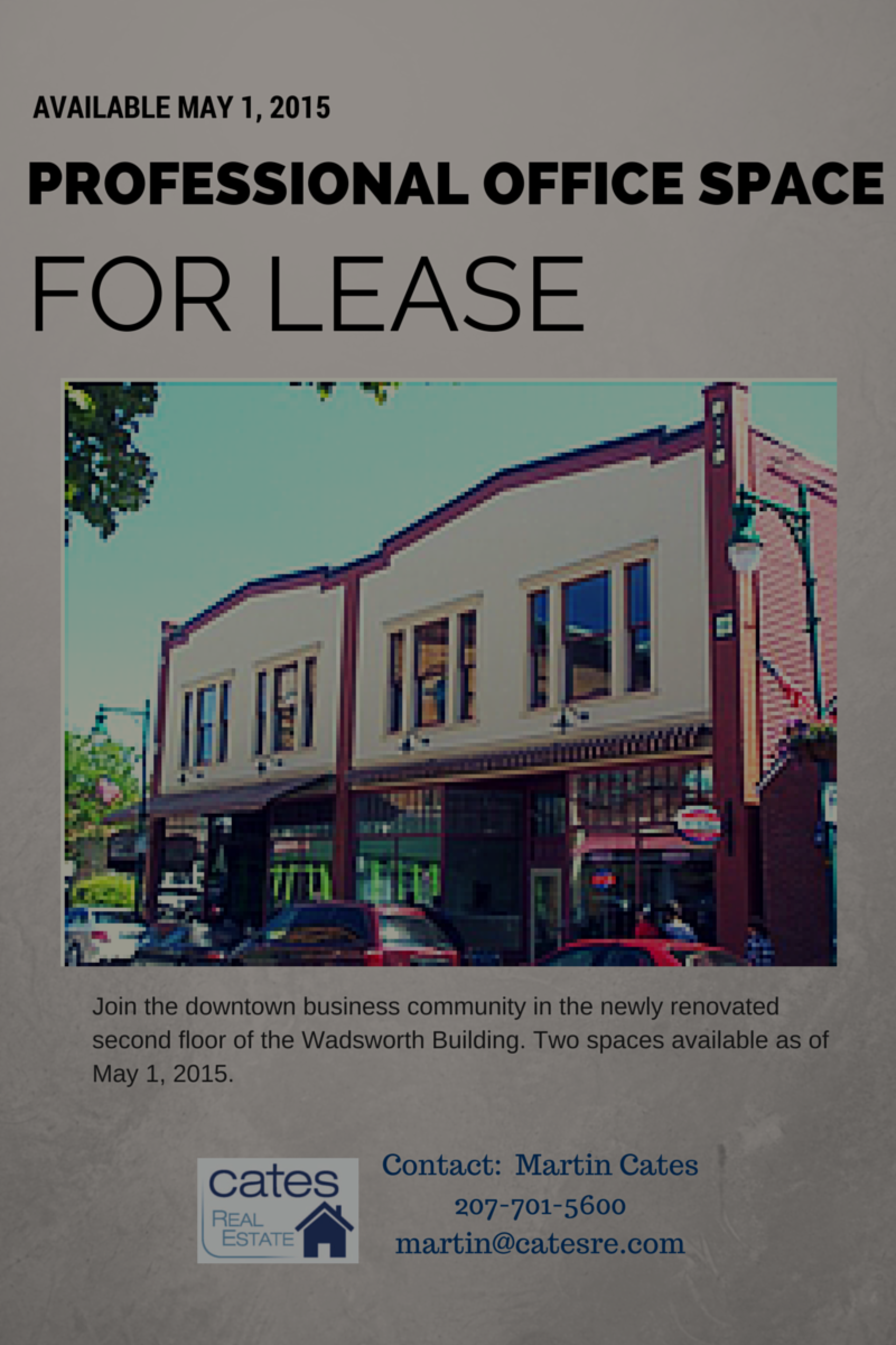 Professional Office Space for Lease: Downtown Rockland