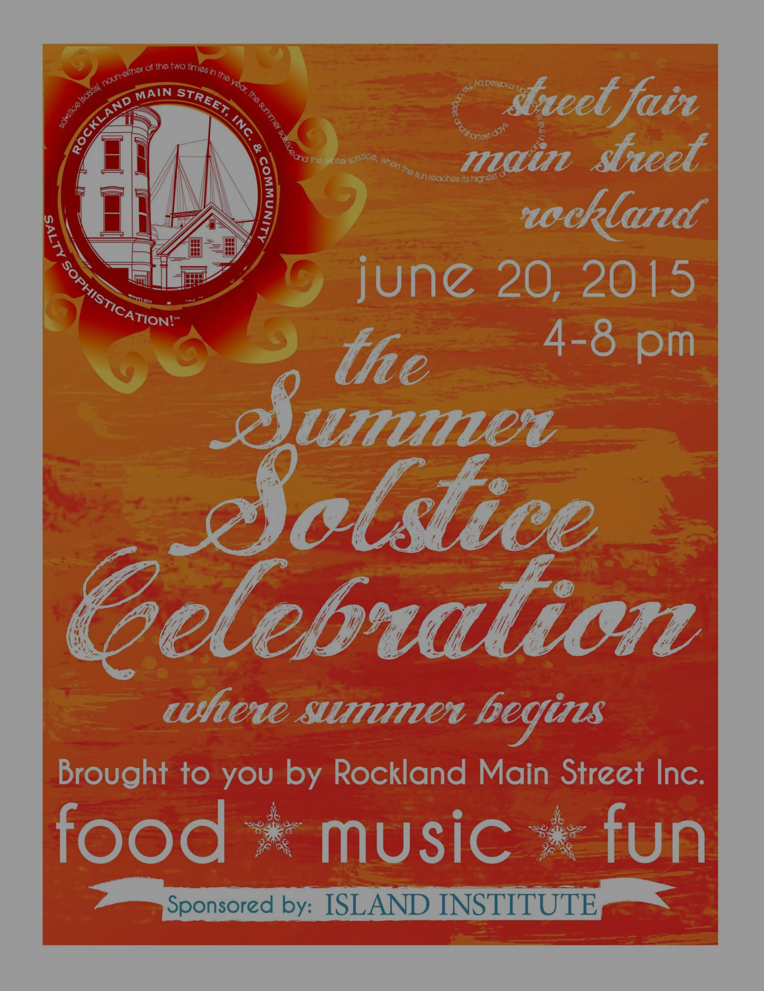 Downtown Rockland Event: Summer Solstice Celebration