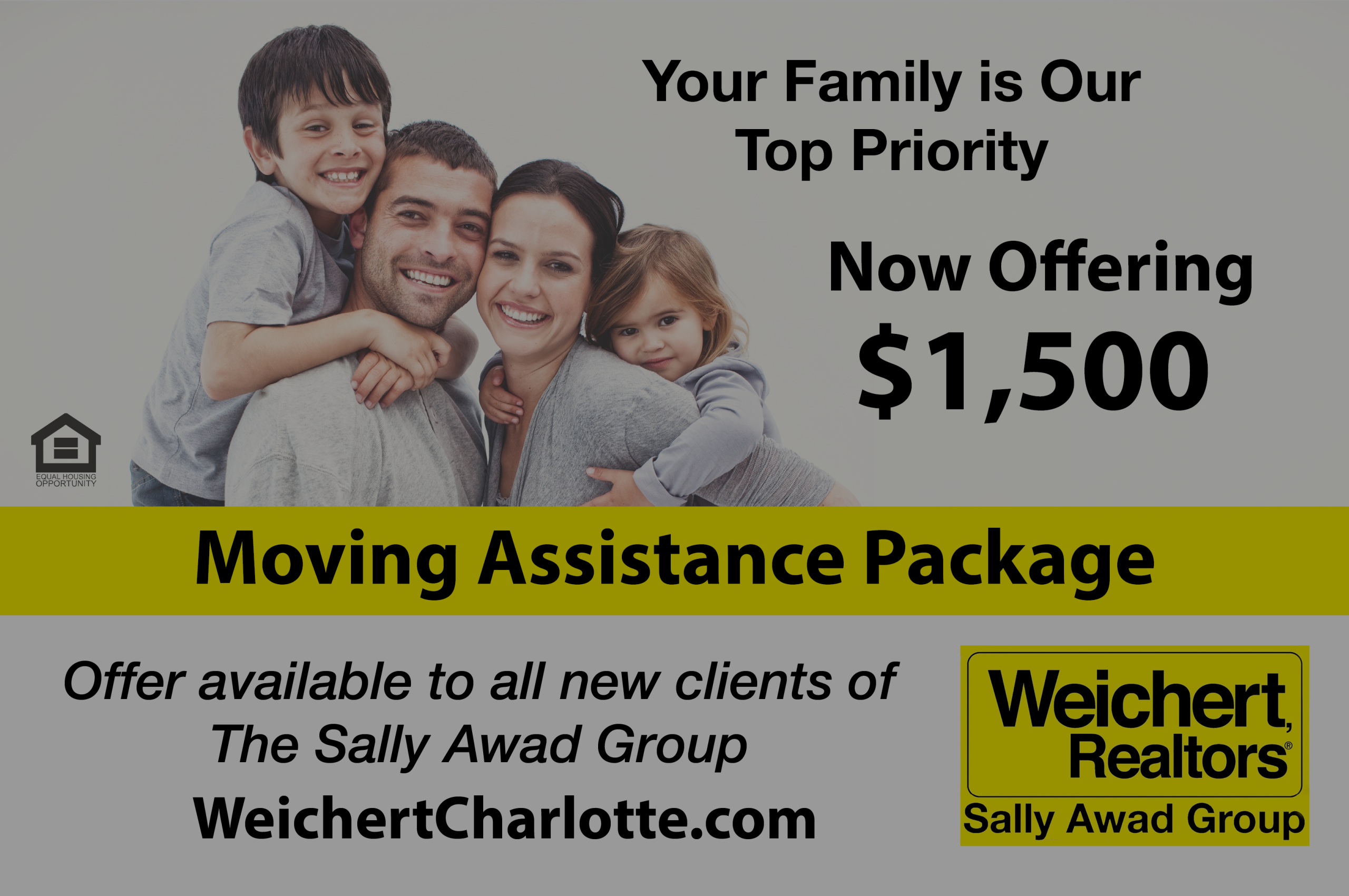 The Sally Awad Group – $1500 Moving Assistance Program