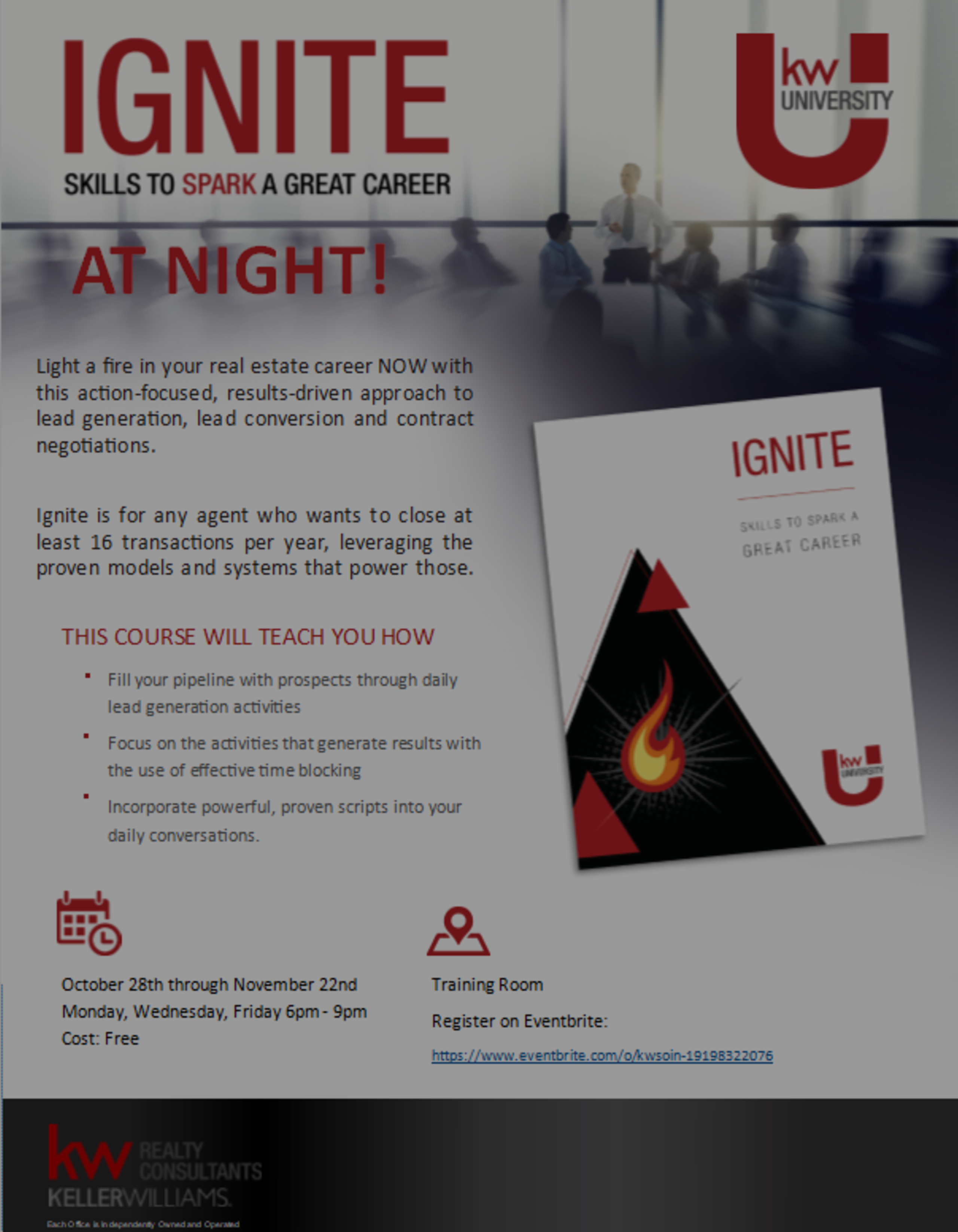Ignite At Night