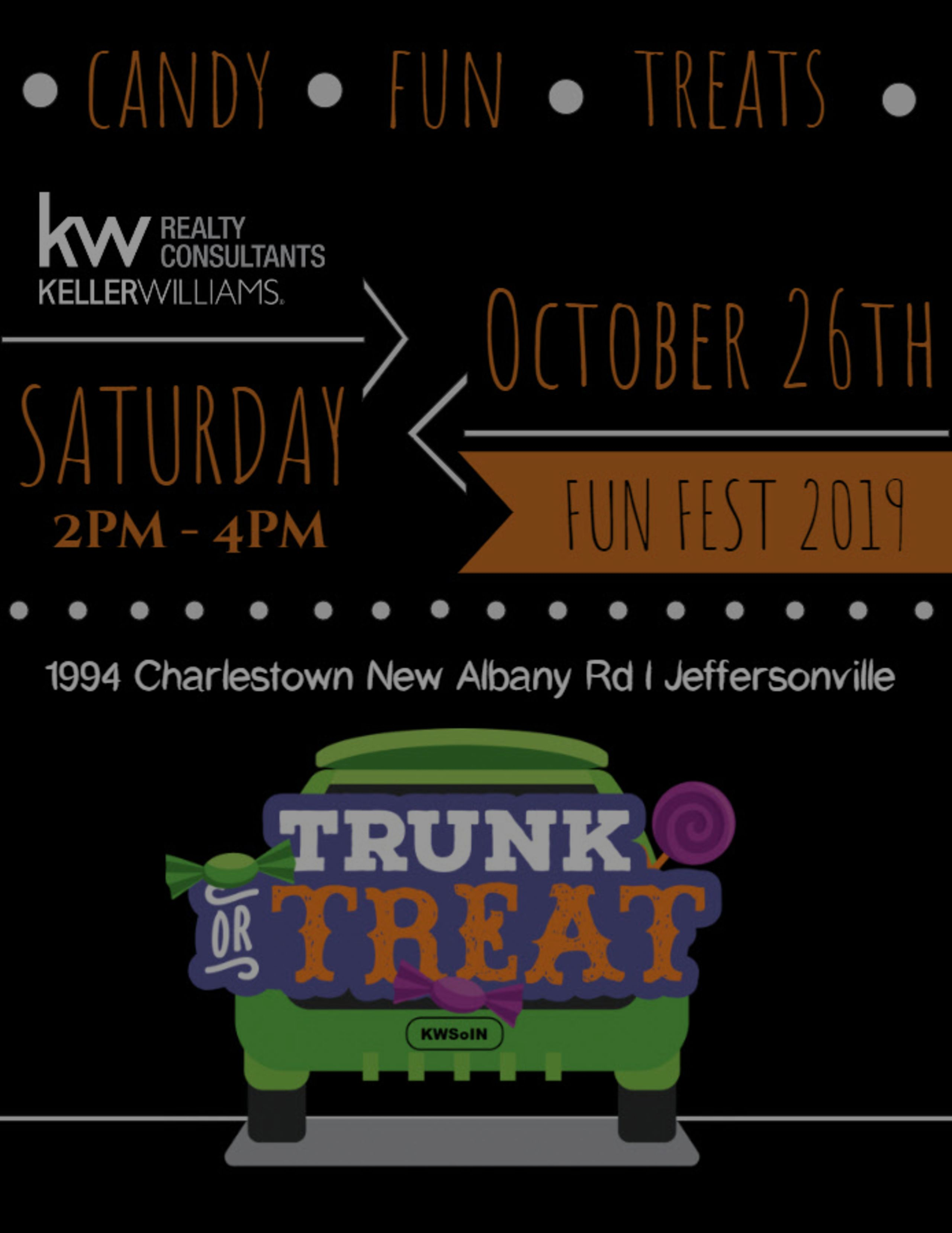 Who's ready to TRUNK or TREAT???