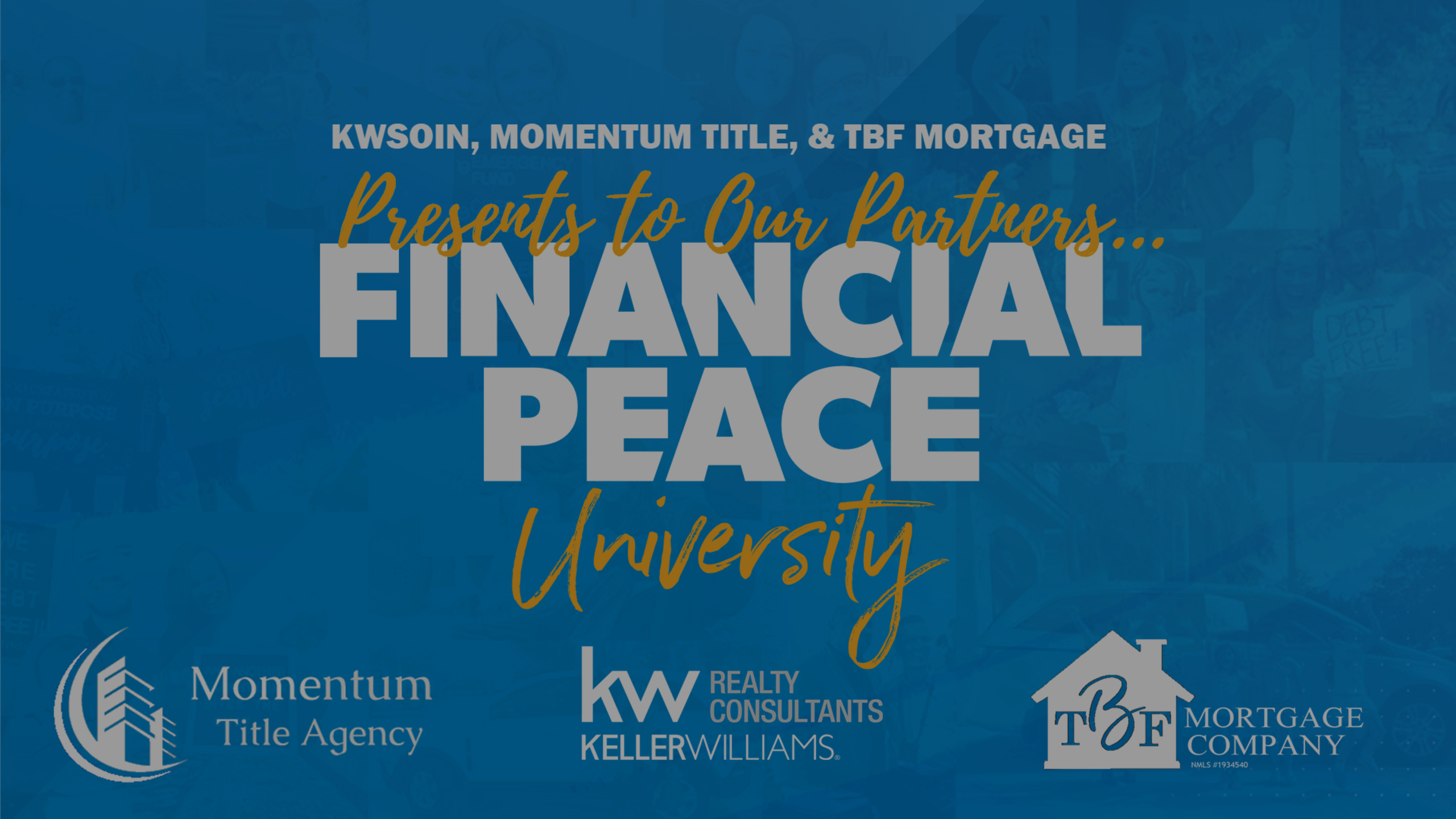 KWSOIN Ramsey+ Financial Peace University