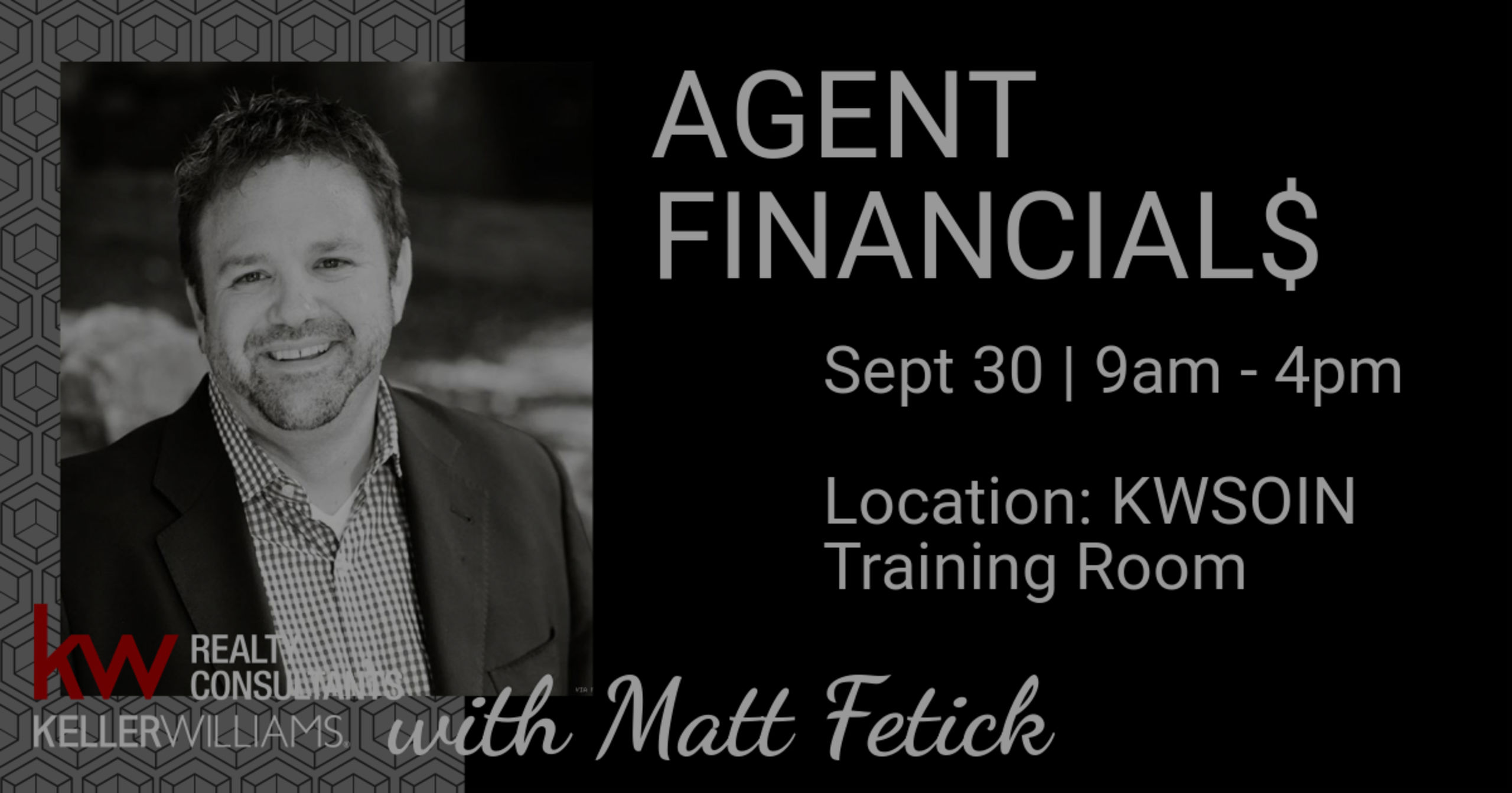 AGENT FINANCIAL$ with Matt Fetick