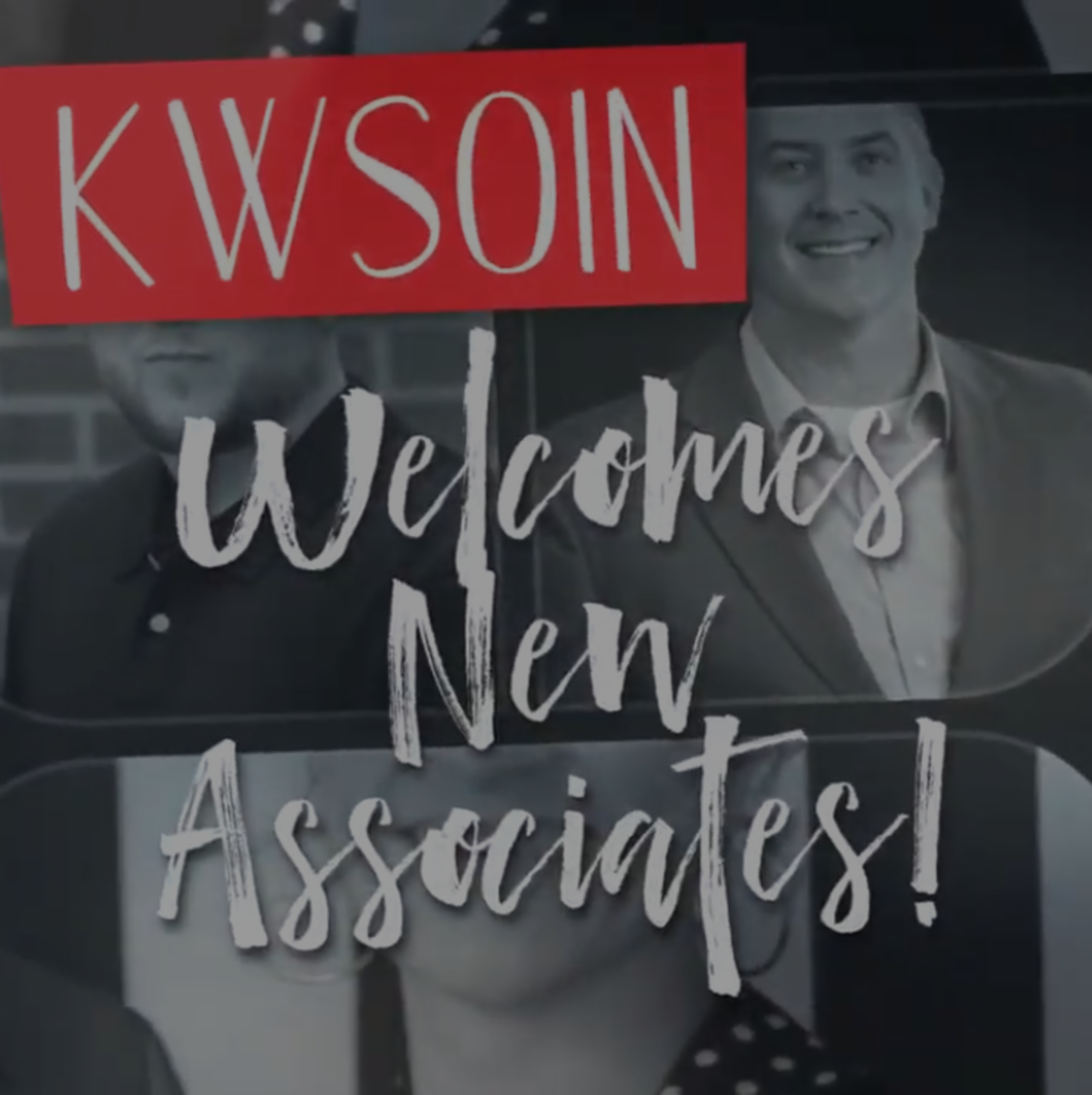 Welcome New KWSOIN Associates!