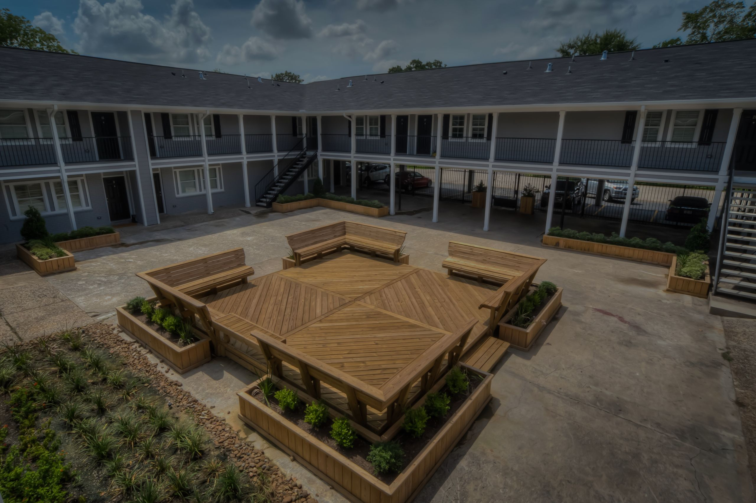 Historic Houston Heights non affected Boutique Apts available after Hurricane Harvey