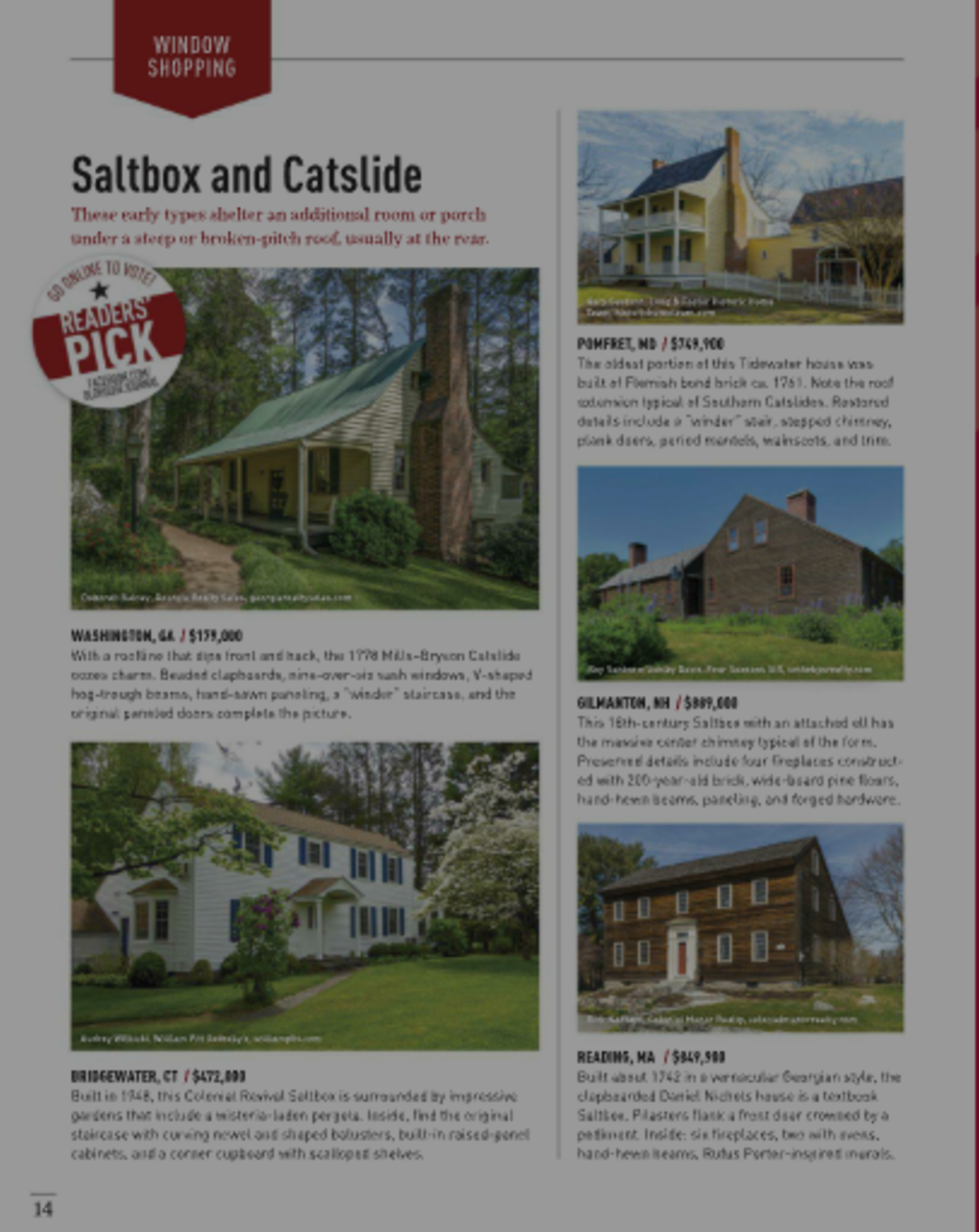 Mills-Bryson Cottage I Old House Journal I Reader's Pick