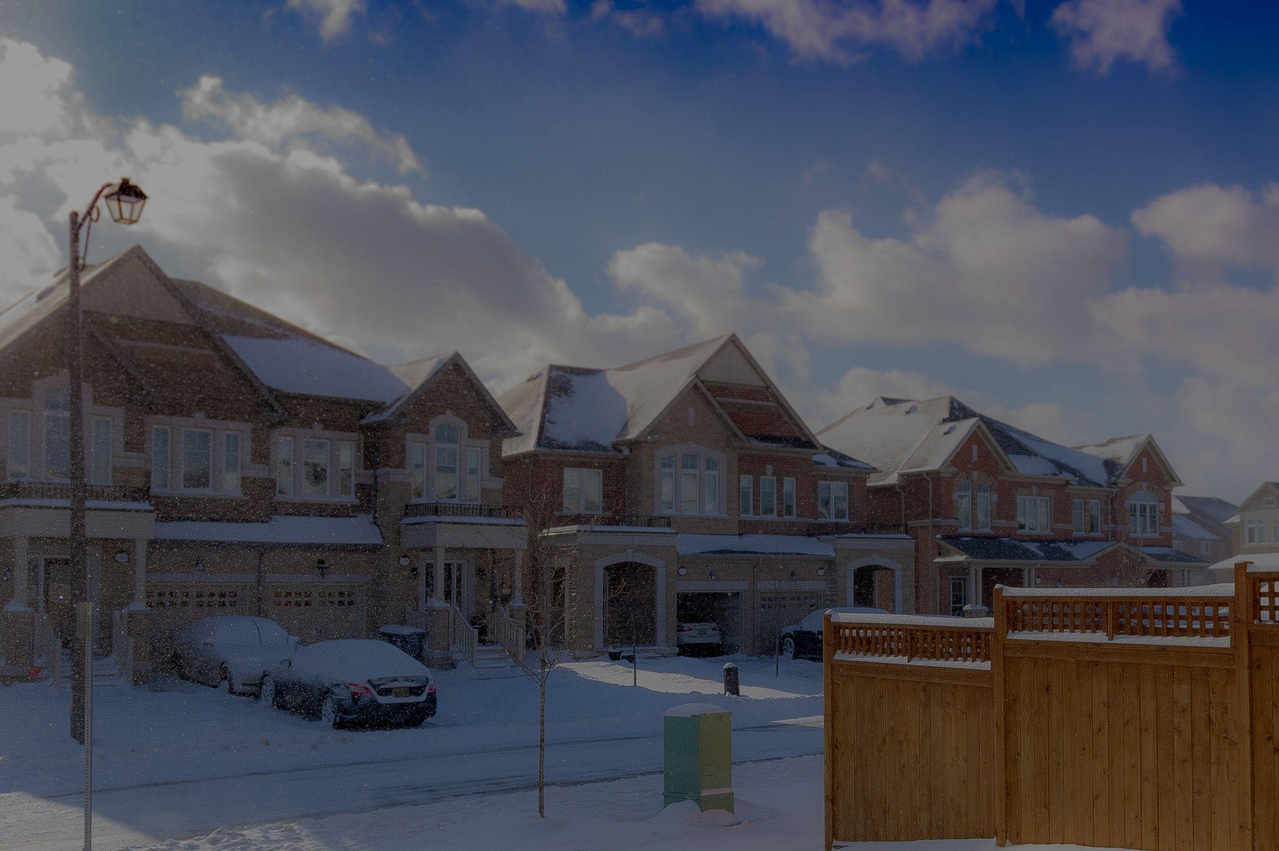 Homeowner Winter Maintenance Checklist