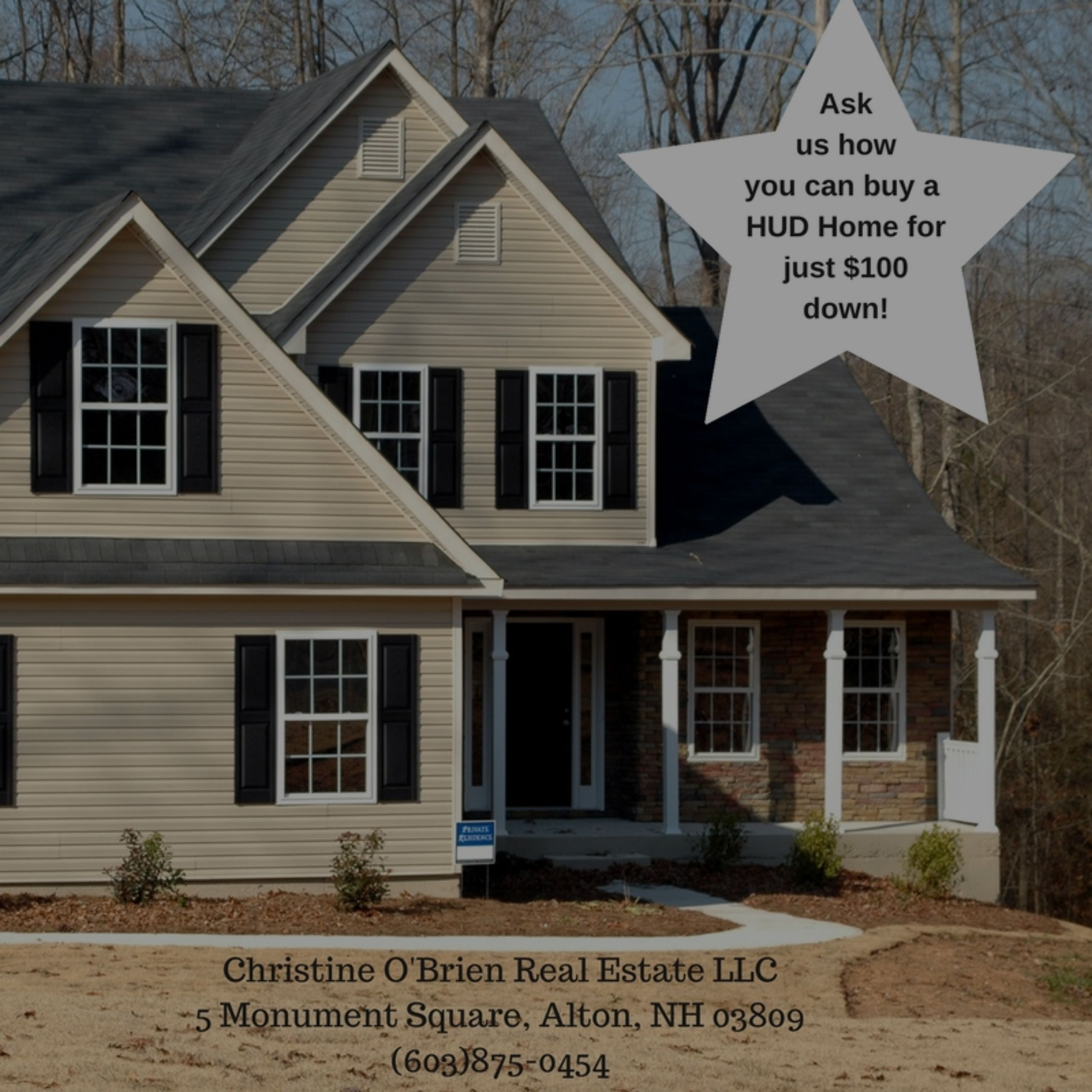 Buy a HUD Home for just $100 DOWN! (Restrictions apply)