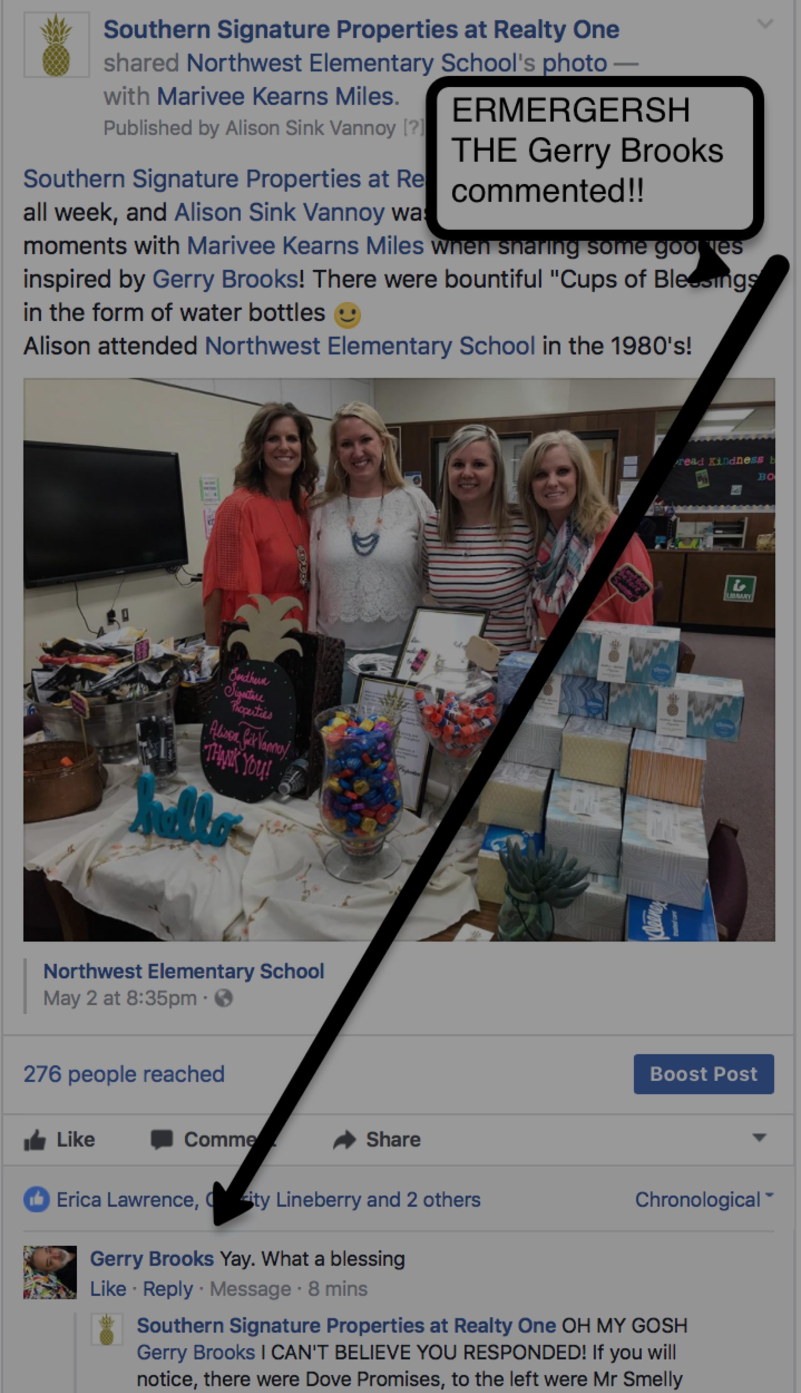 Teacher Appreciation Week:  Partners in the Community!