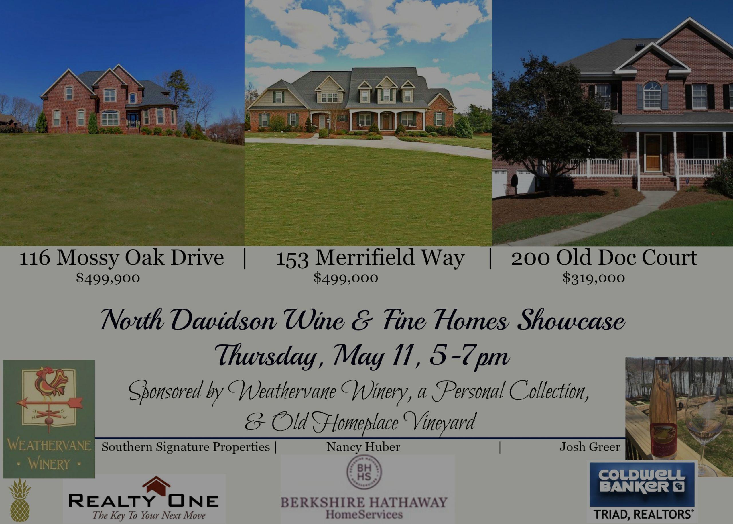North Davidson Wine and Fine Homes Showcase