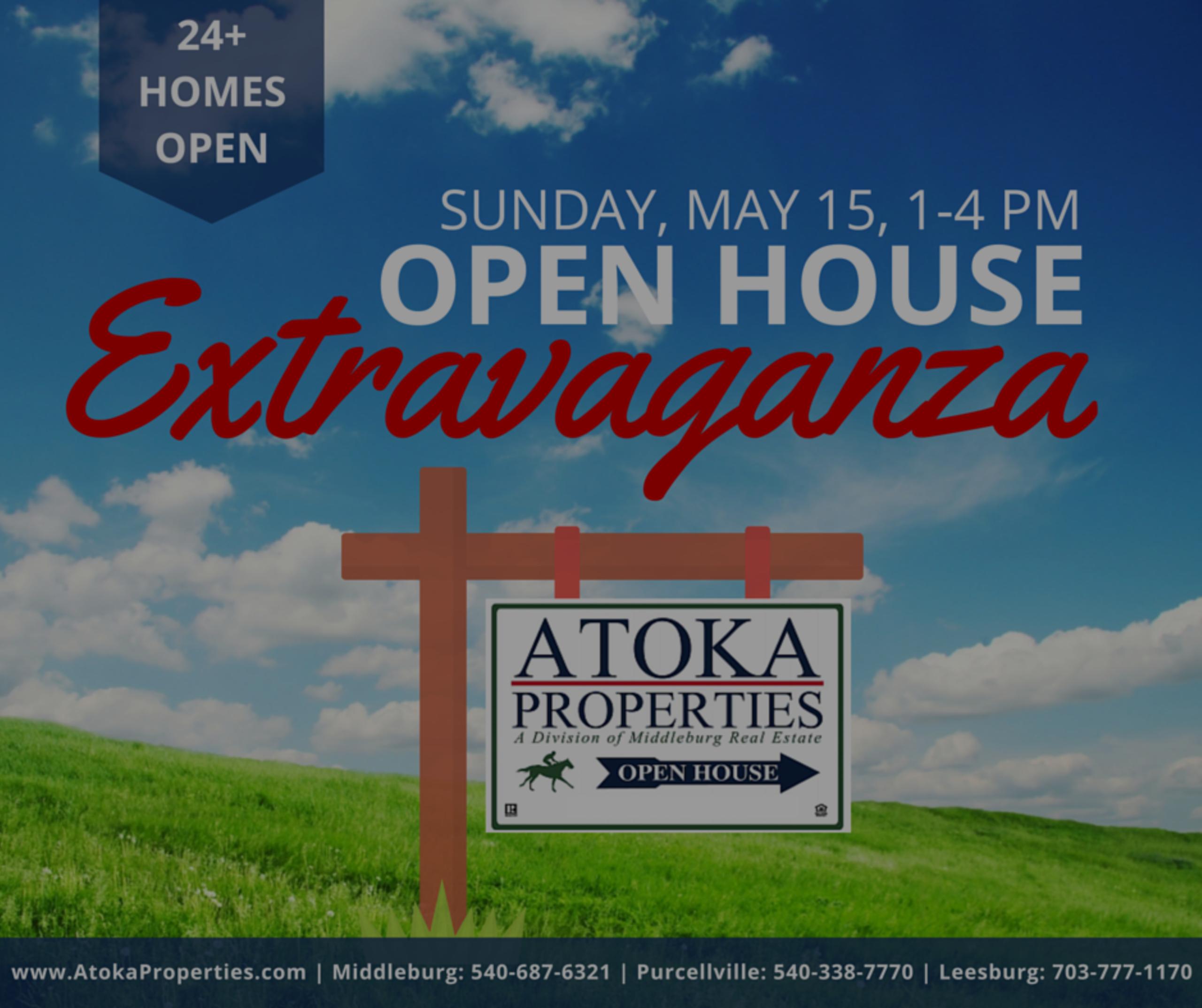Open House Extravaganza!