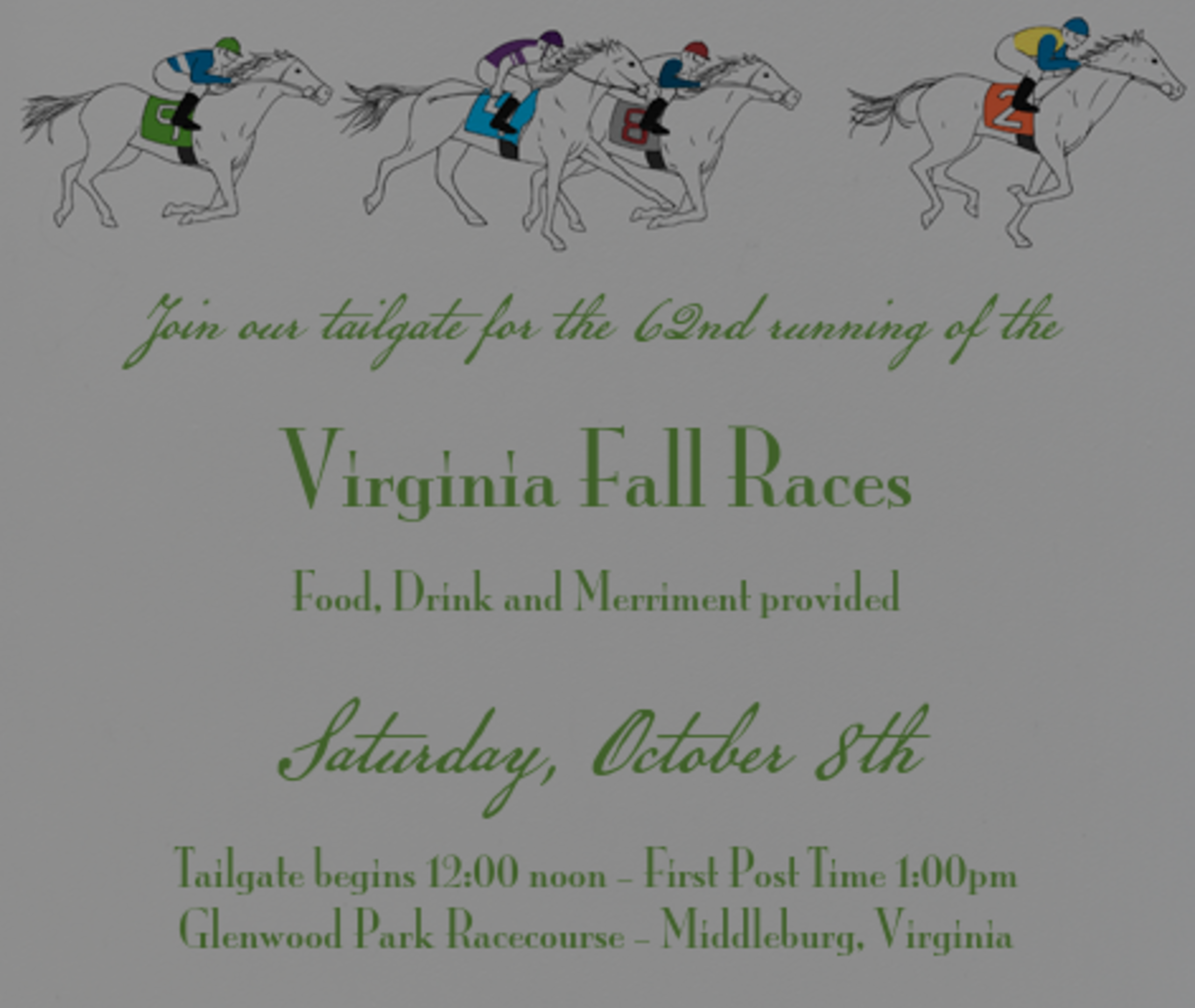 You are Invited! Virginia Fall Races