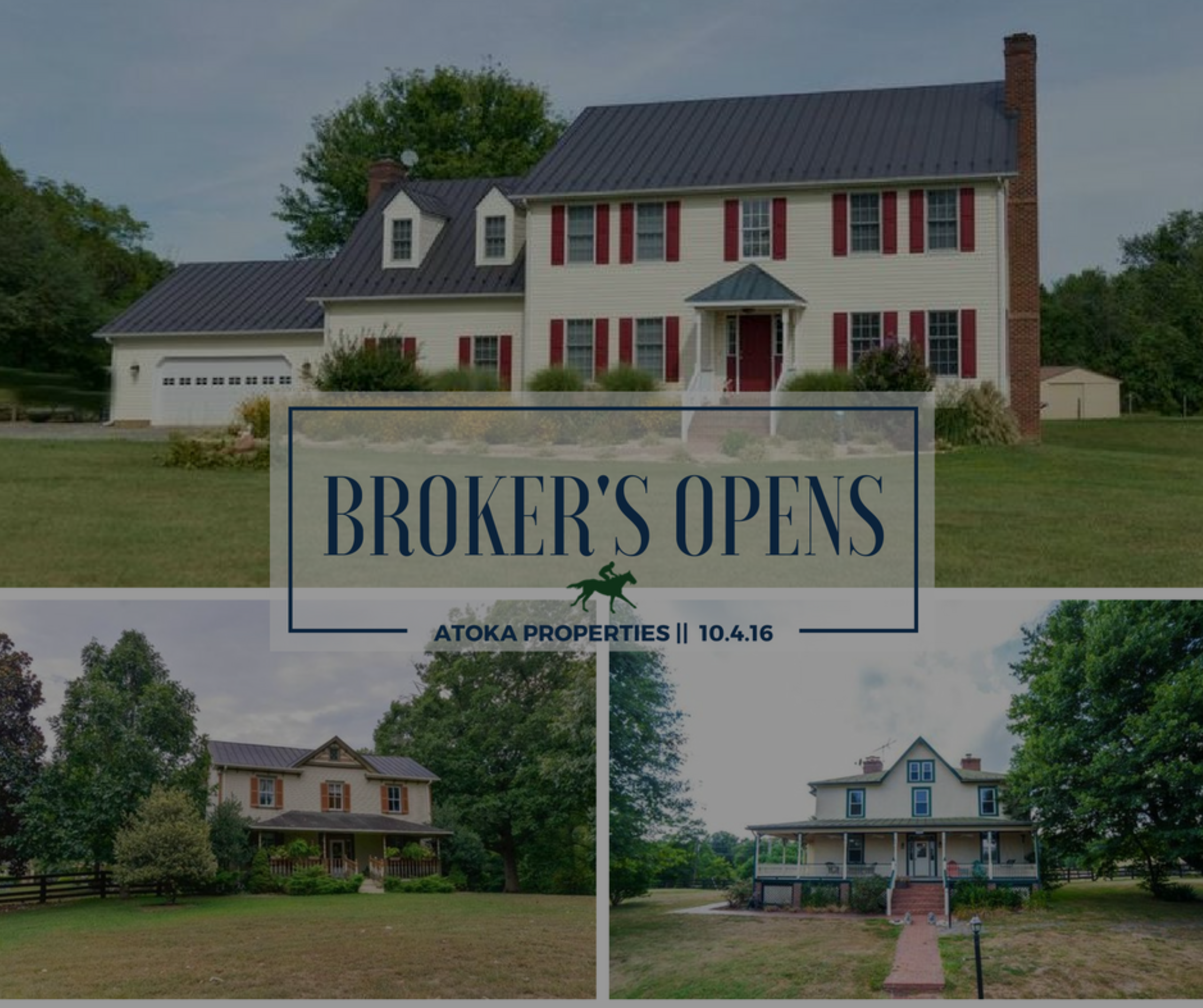 Broker's Opens: 3 Property Tour | 10.4.16