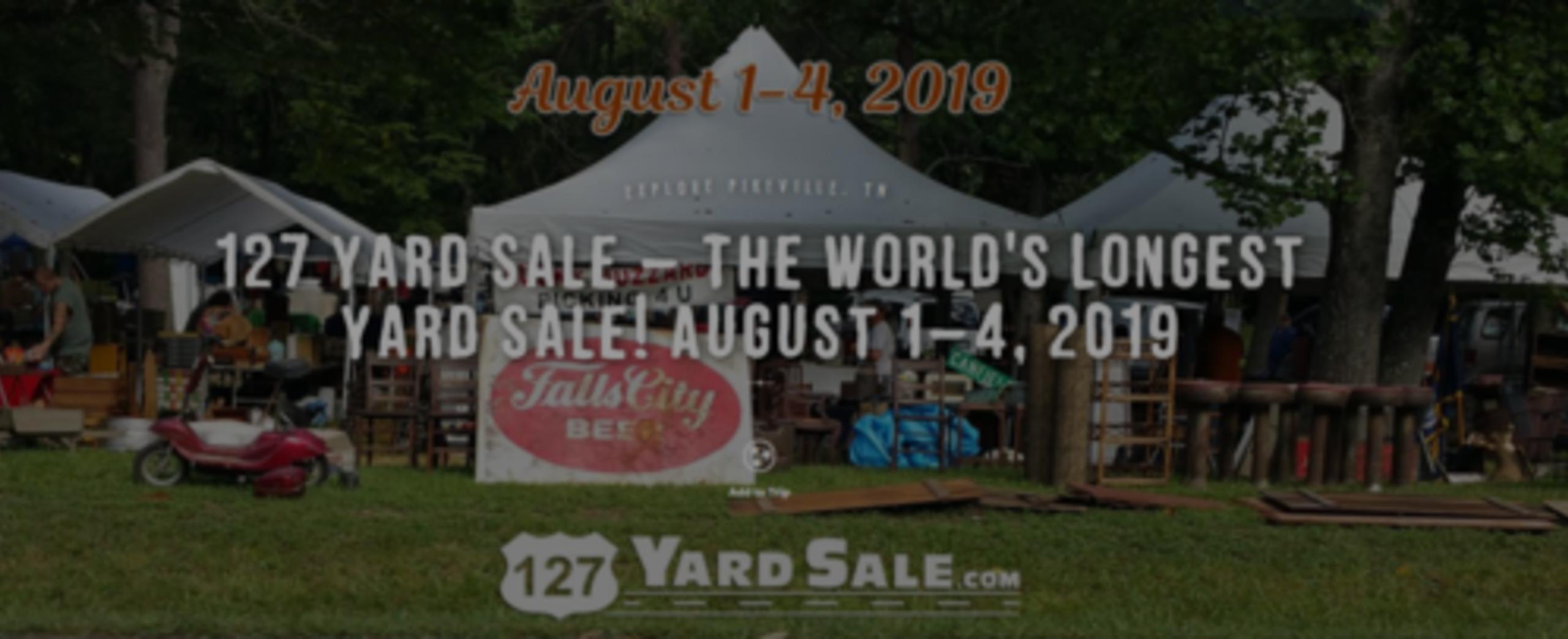 LONGEST YARD SALE 2019