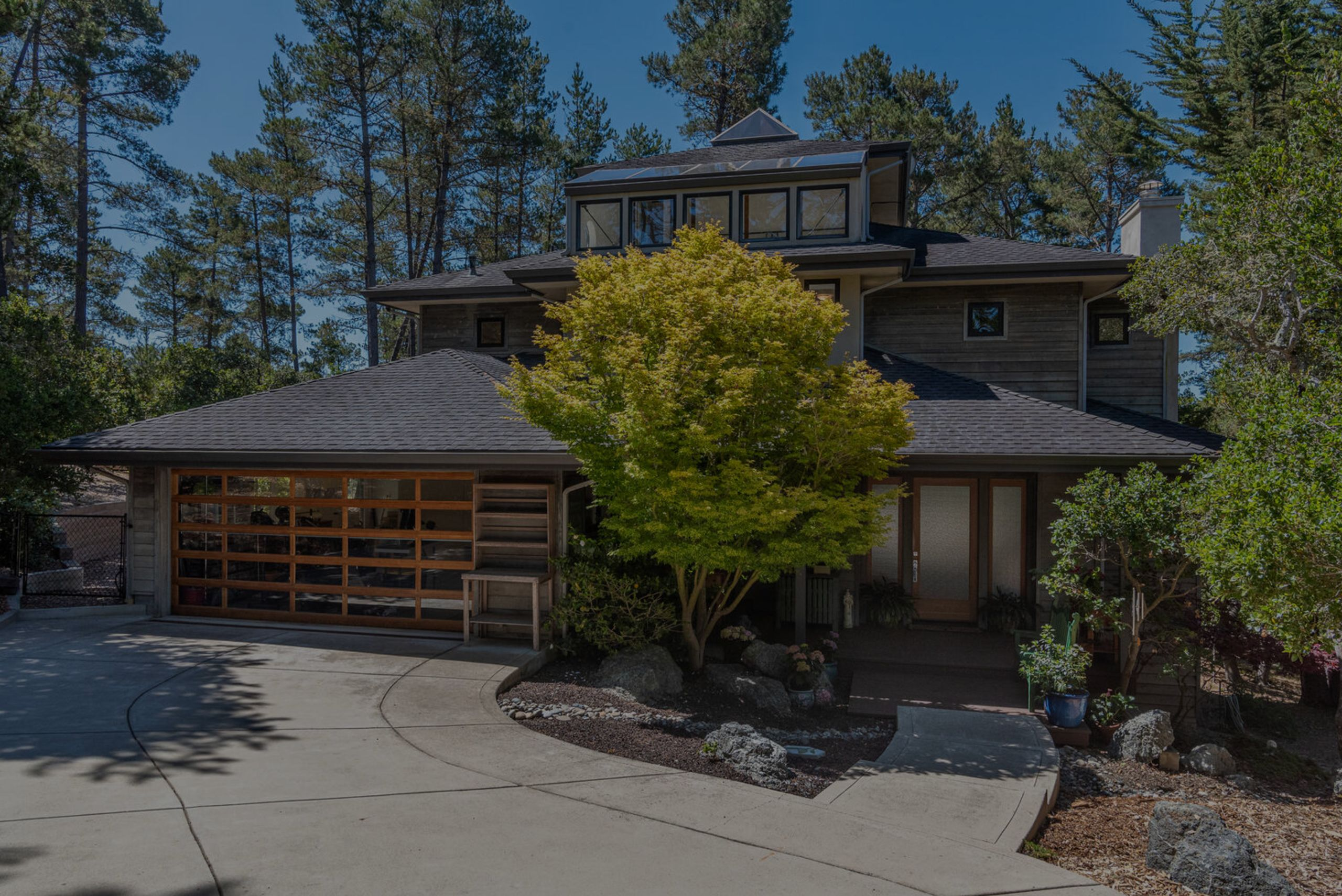 Secluded Cambria home on 2 acres
