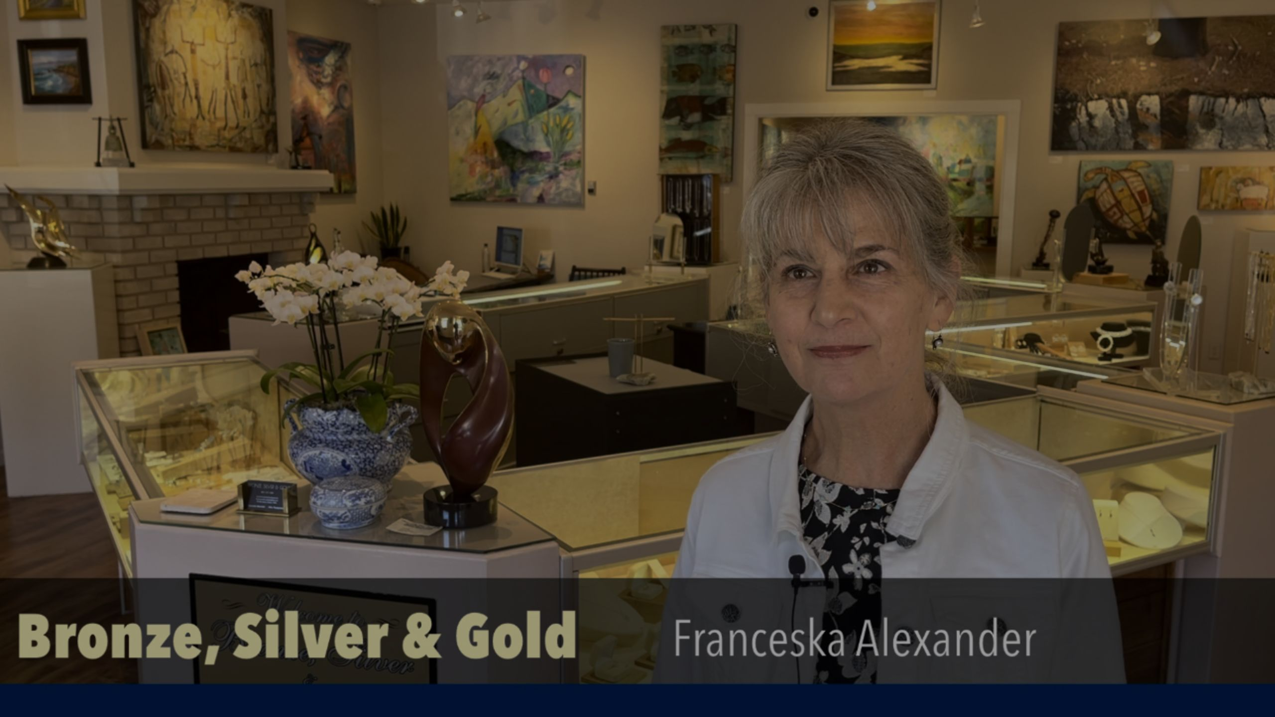 Bronze, Silver & Gold Gallery in Cambria under new ownership