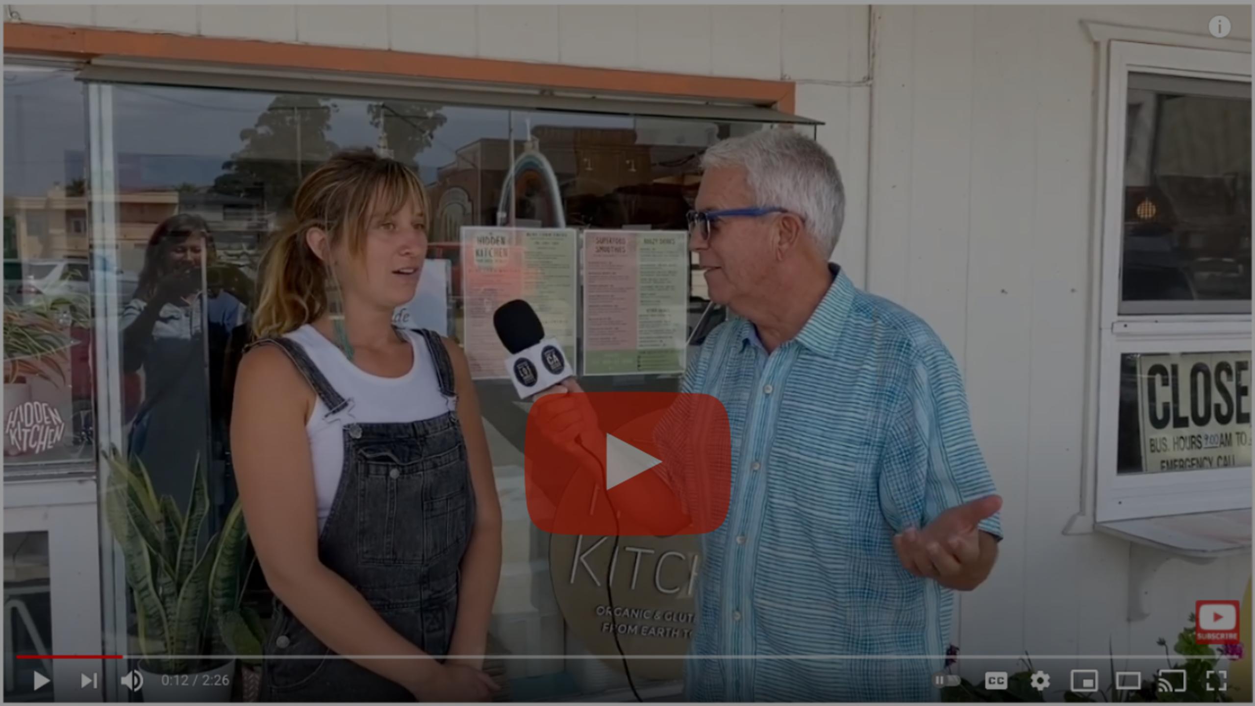 Best of California show features Hidden Kitchen in Cayucos