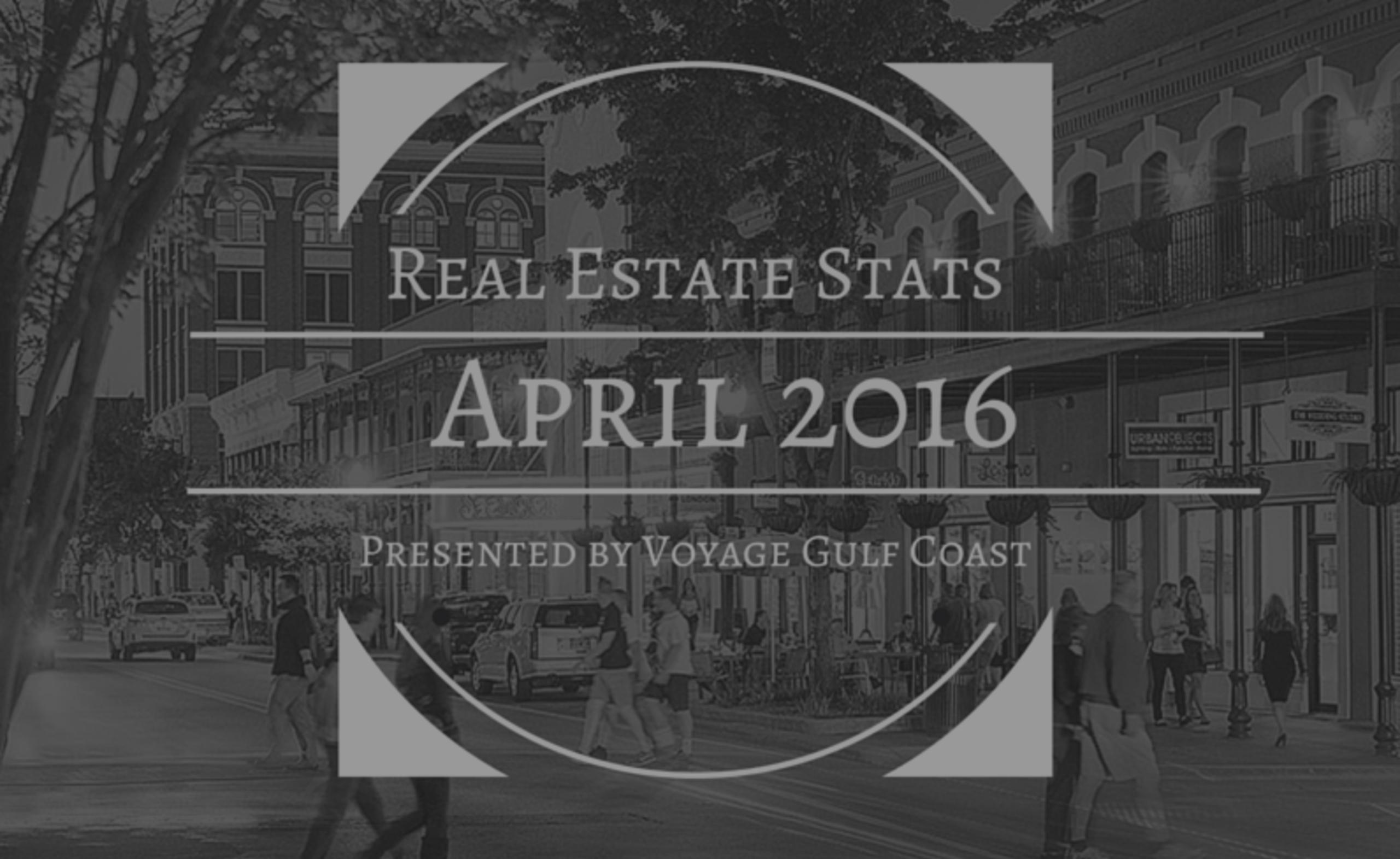 Pensacola Market Stats – April 2016