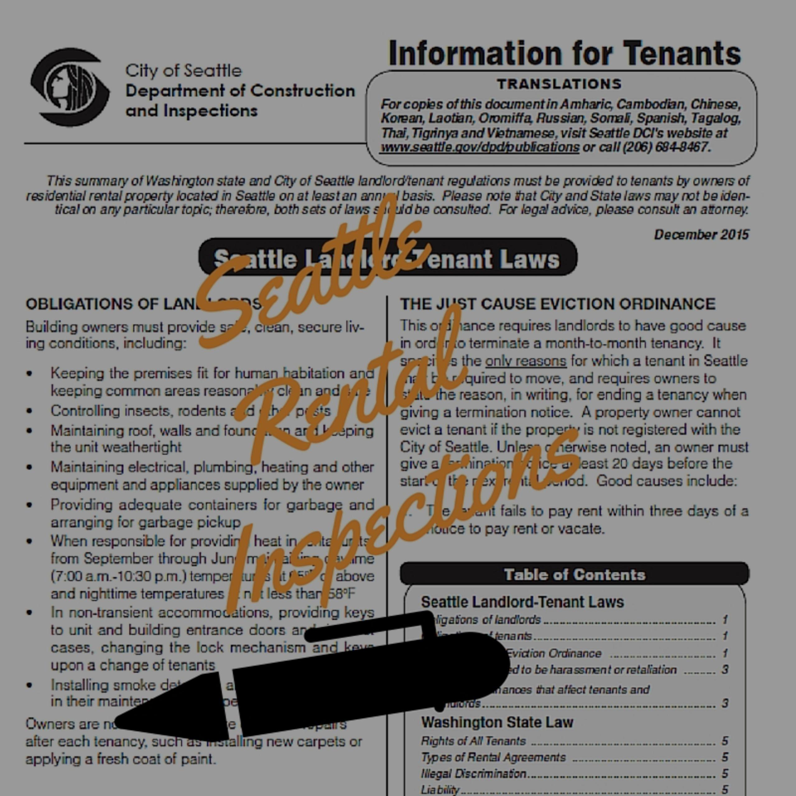 Seattle's Rental Inspection Program