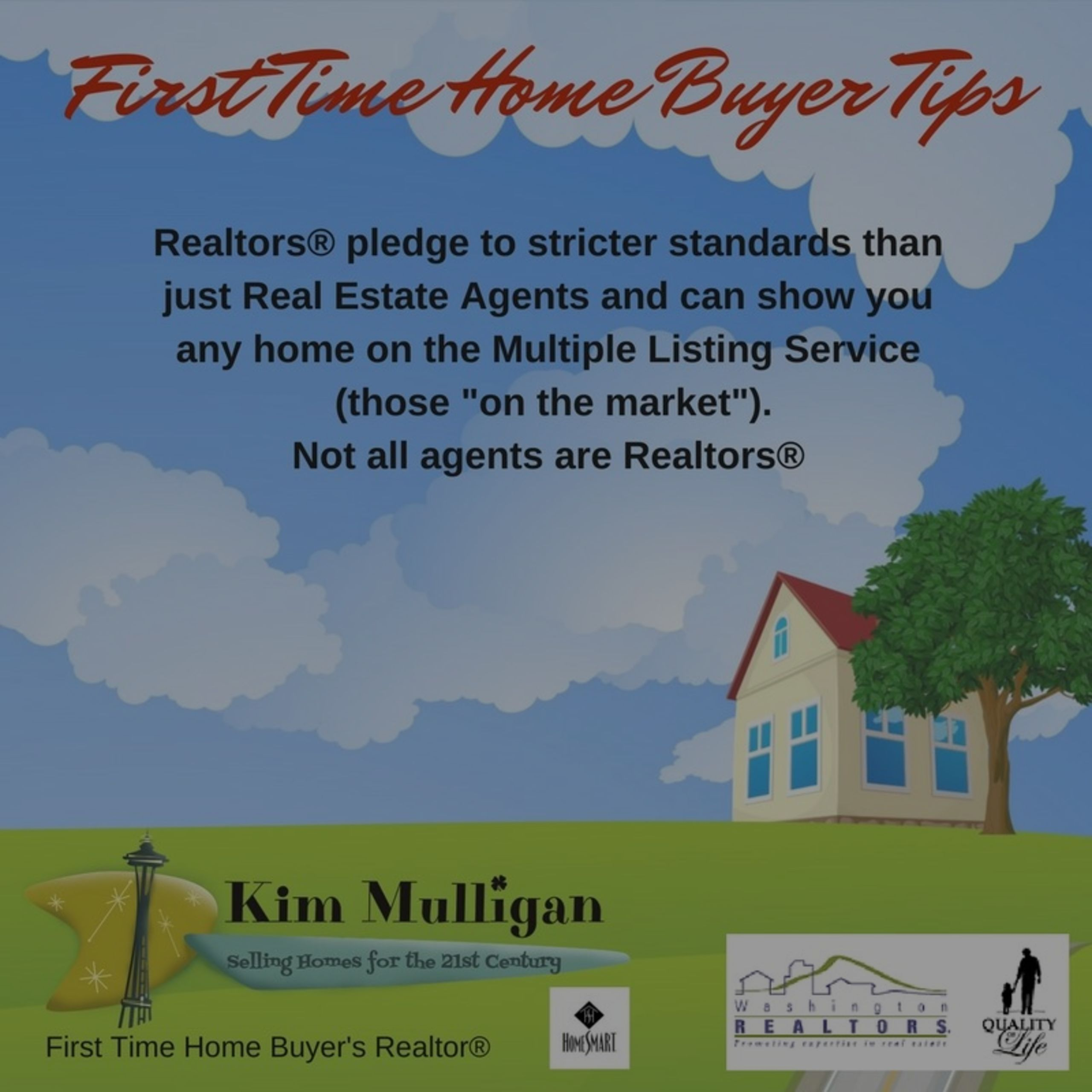 First-Time HomeBuyer Tips for the Greater Seattle Area #1