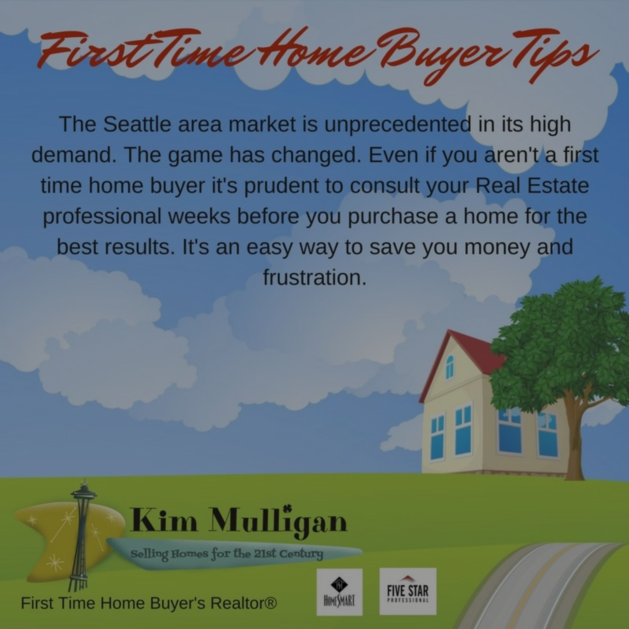 First Time HomeBuyer Tips for the Greater Seattle Area #2