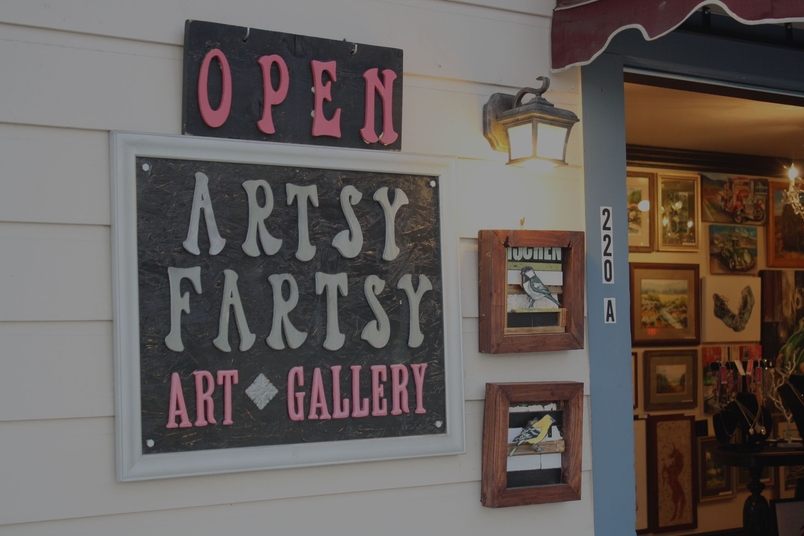 Around Carson City with Colleen McKoy: Artsy Fartsy Art Gallery