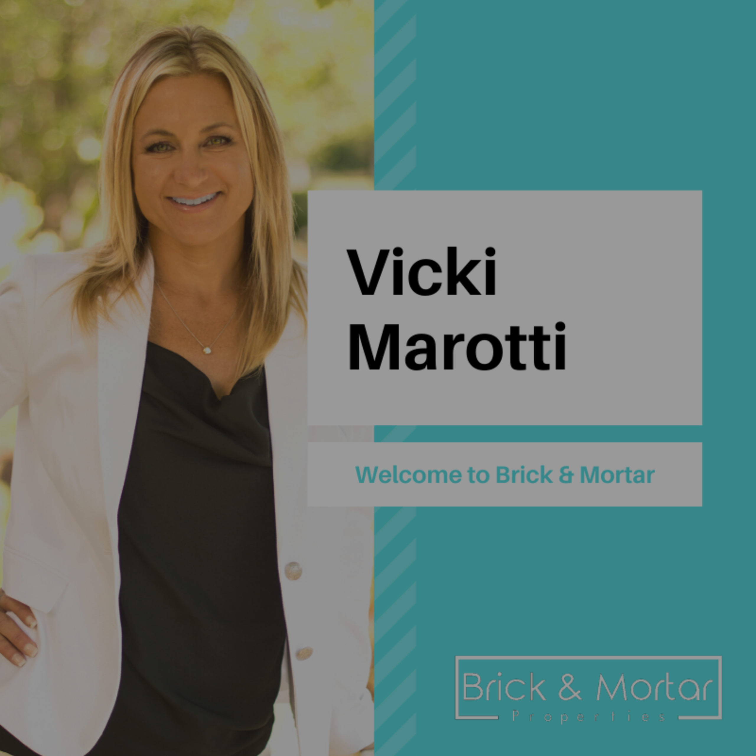 Welcome Vicki Marotti!