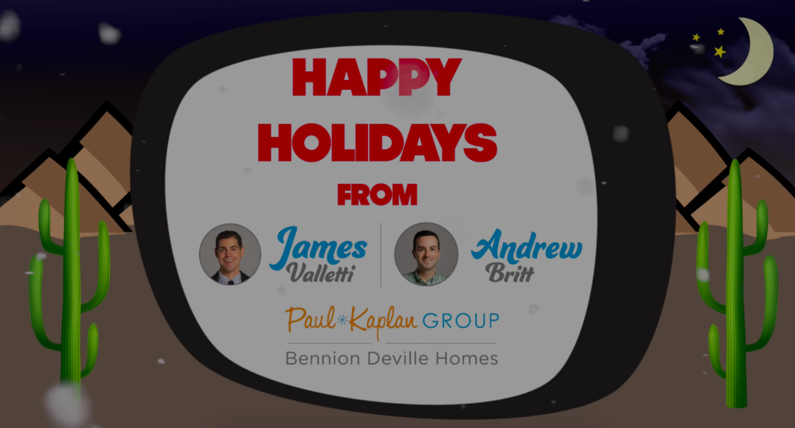 Happy Holidays!  Our Year In Review