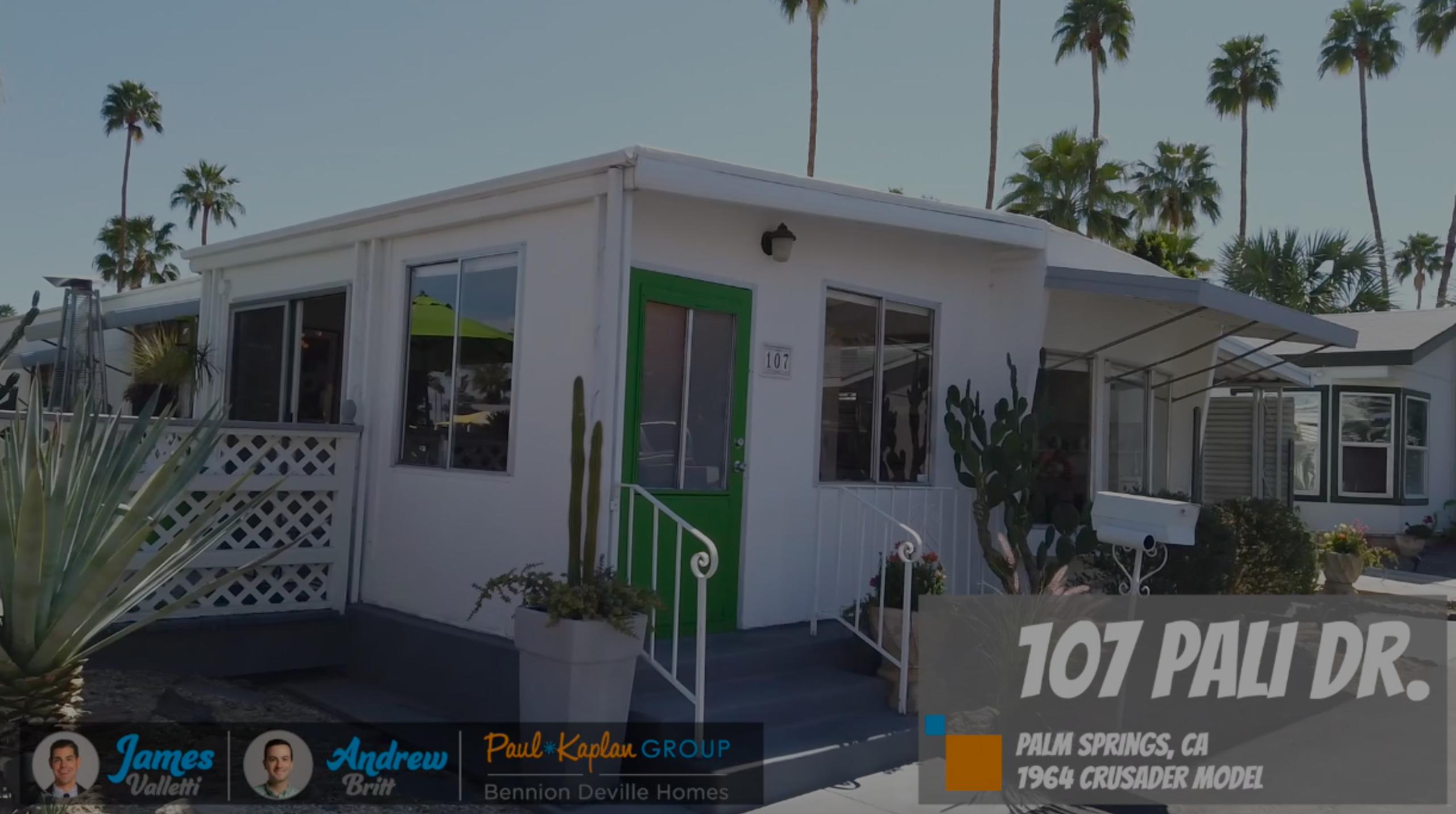 Charming Mobile Home Listing – 107 Pali Dr, Palm Springs