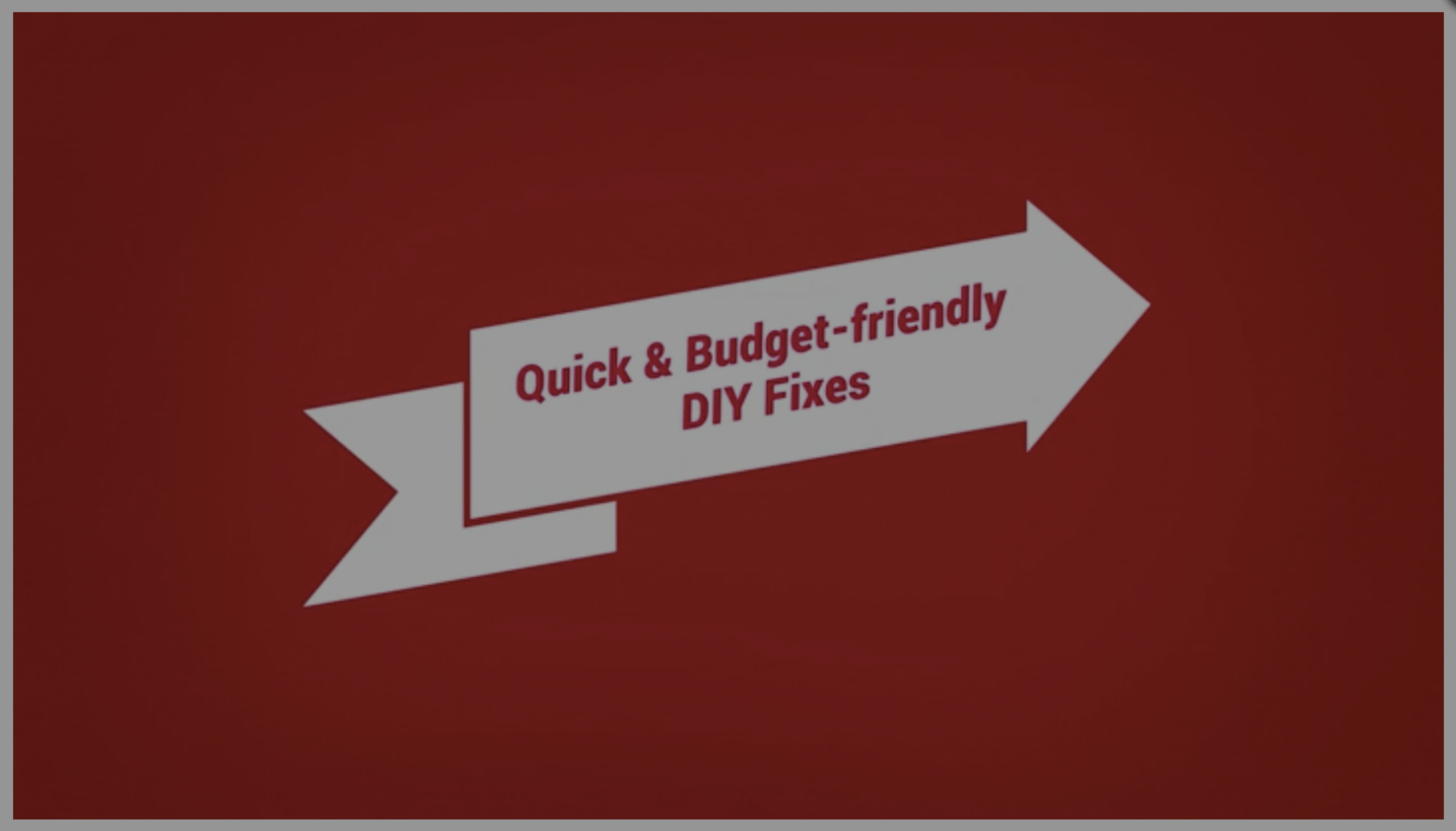 Realtor.com presents: Best DIY bang for your buck