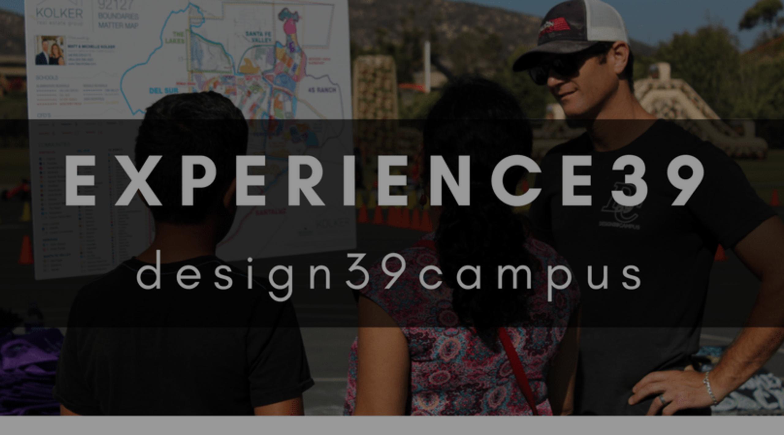 EXPERIENCE39 2017 | DESIGN39CAMPUS