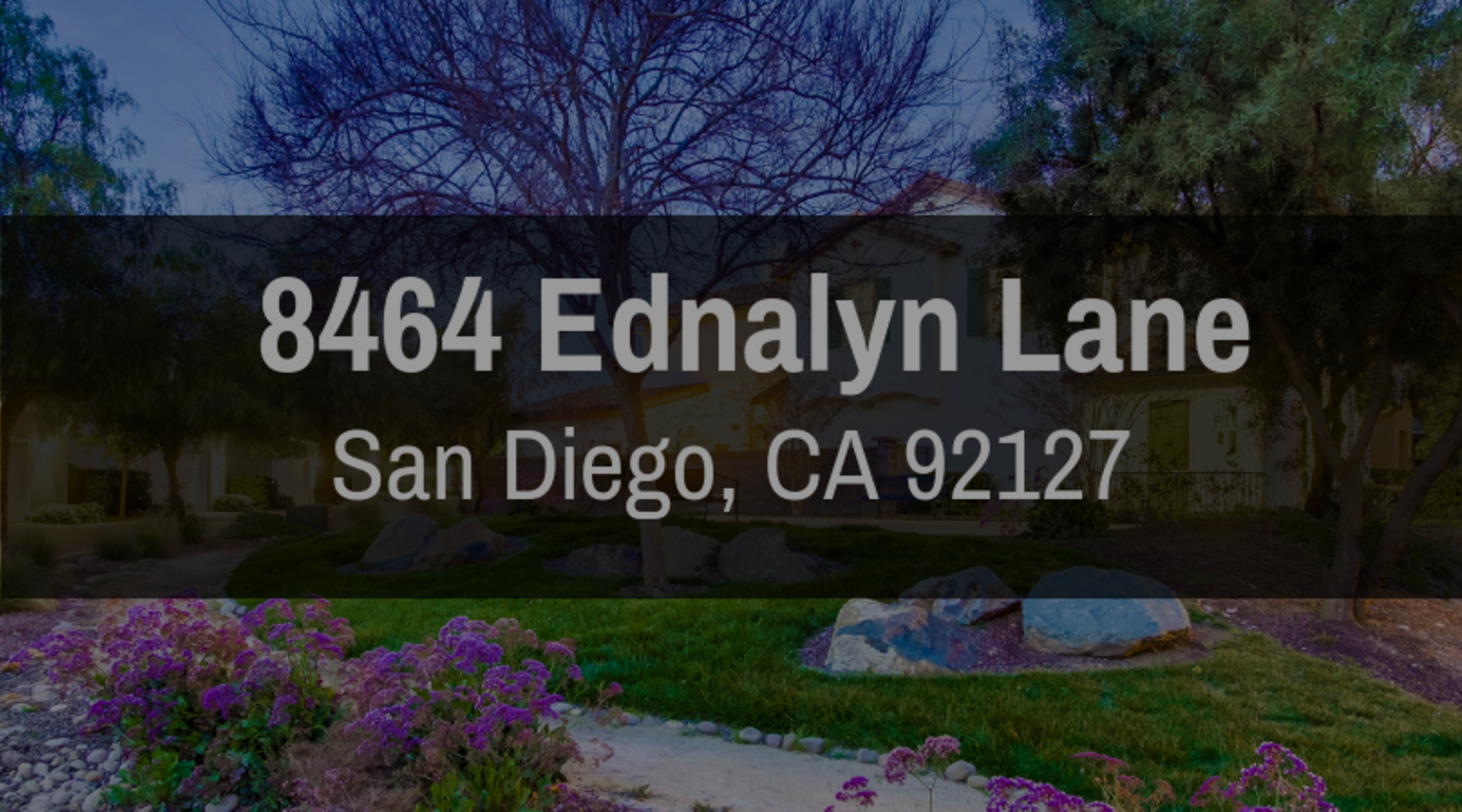 8464 EDNALYN LANE, SAN DIEGO, CA 92127 | FOR SALE