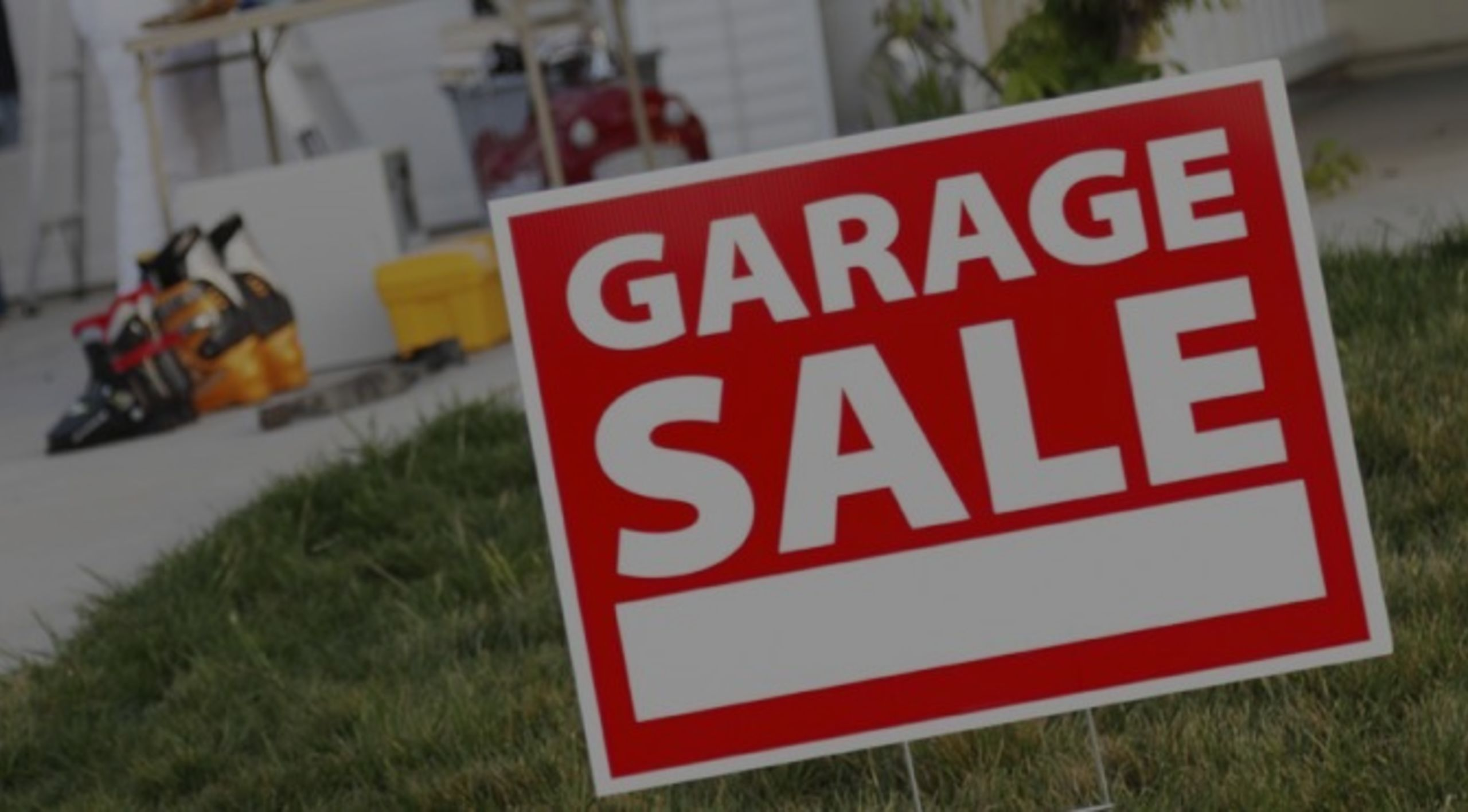 Running A Successful Garage Sale