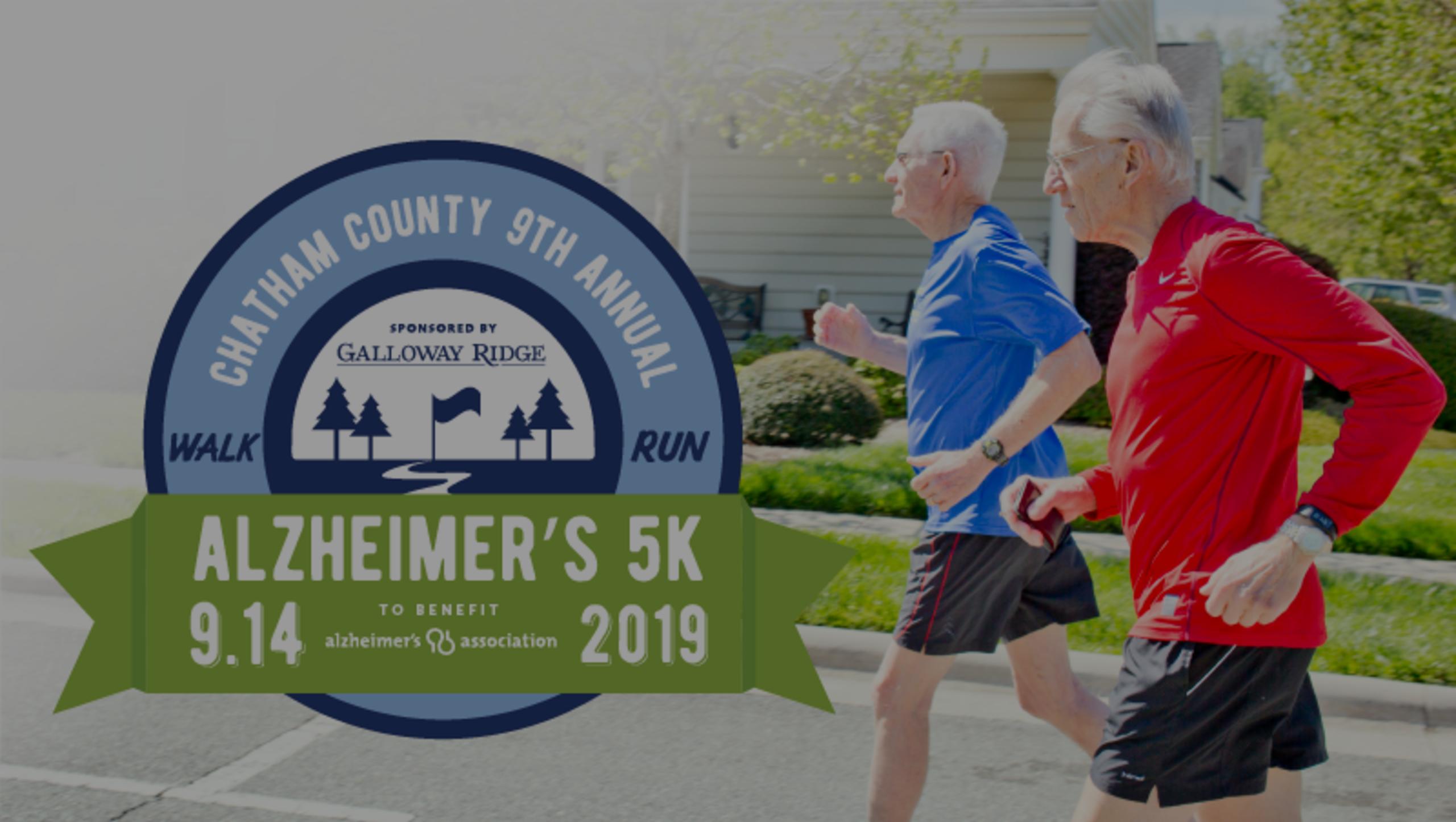 Chatham County 9th Annual Alzheimer's Walk & 5K Run
