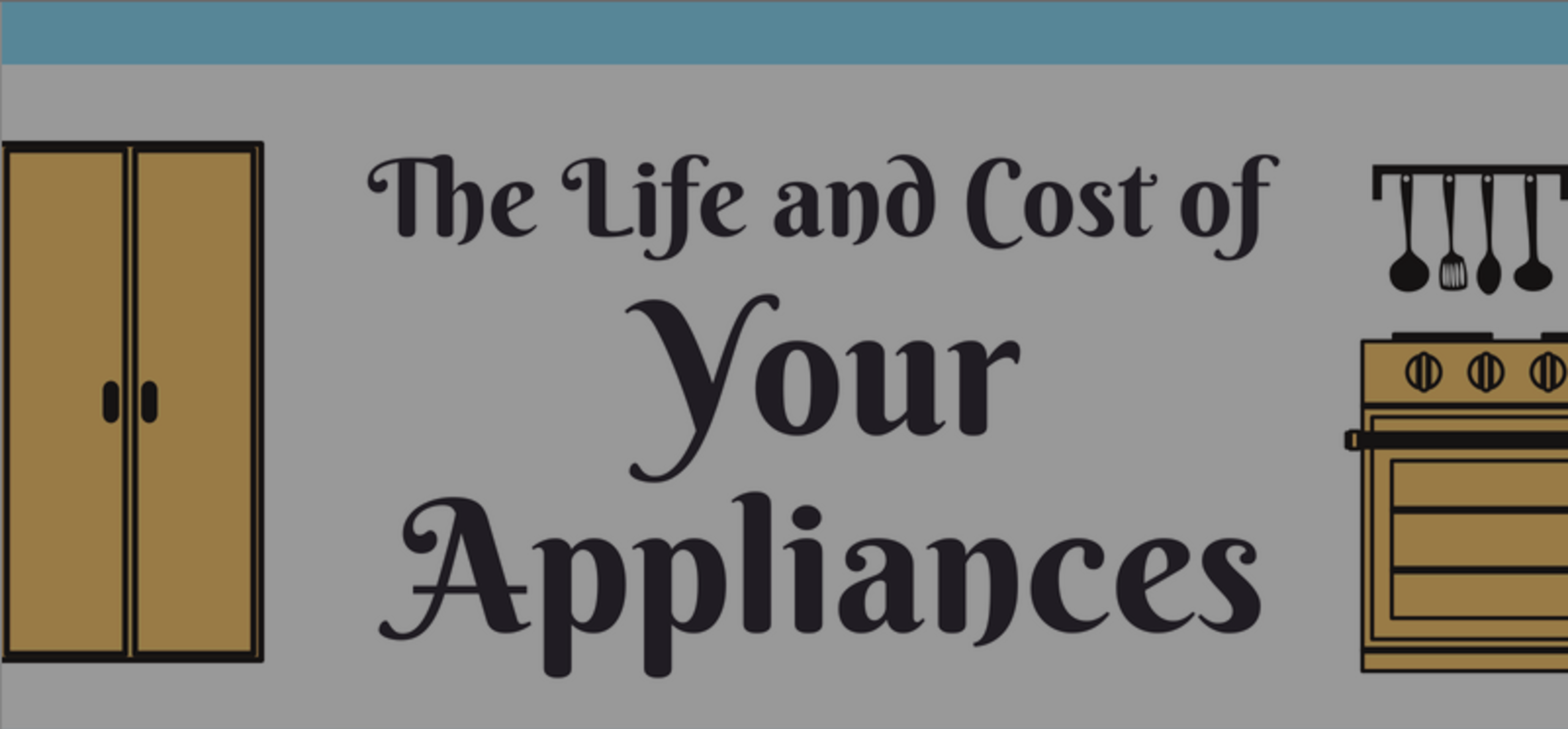 The Life and Cost of Your Appliances