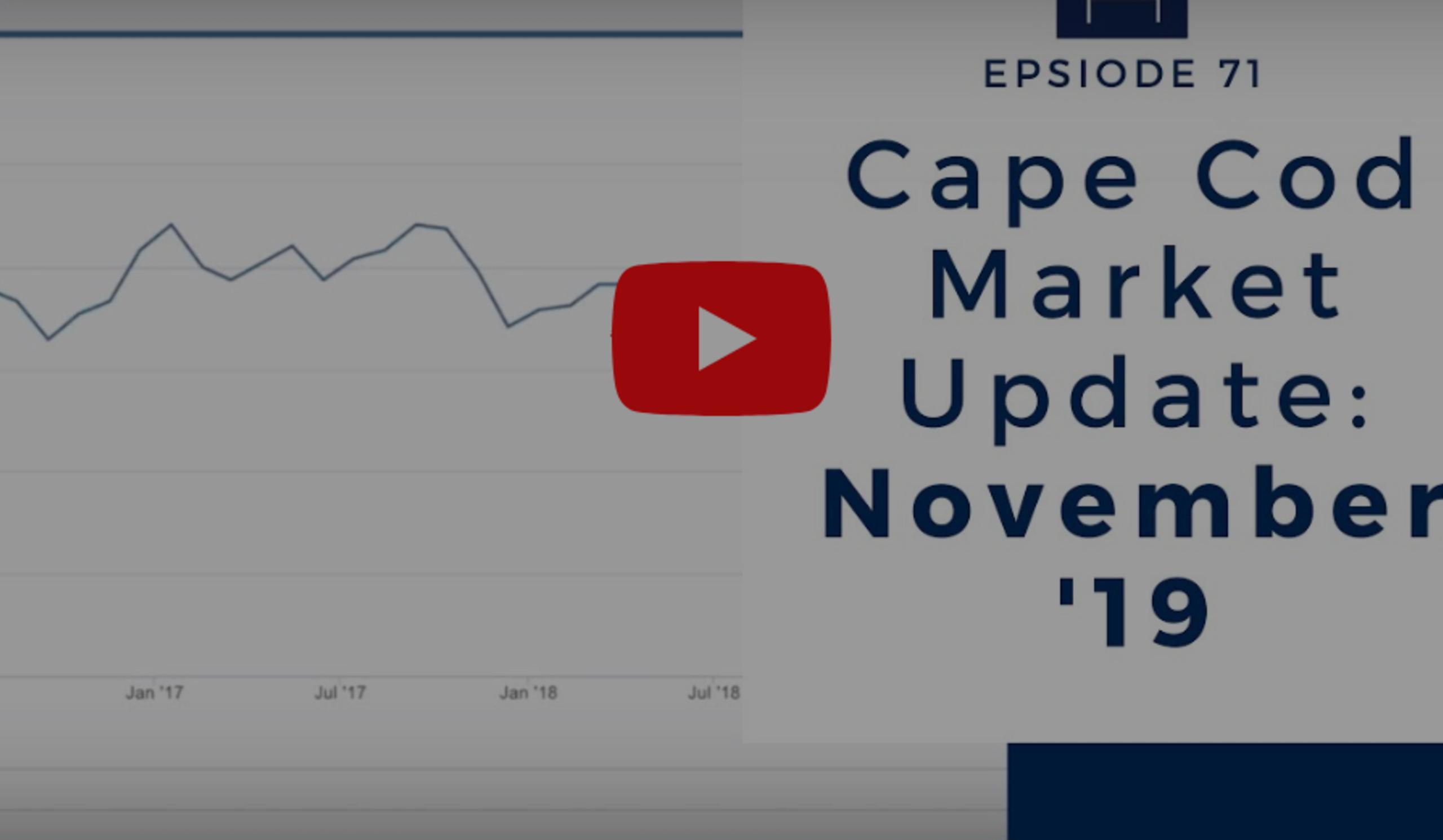 Episode 70: Cape Cod Market Update: November '19