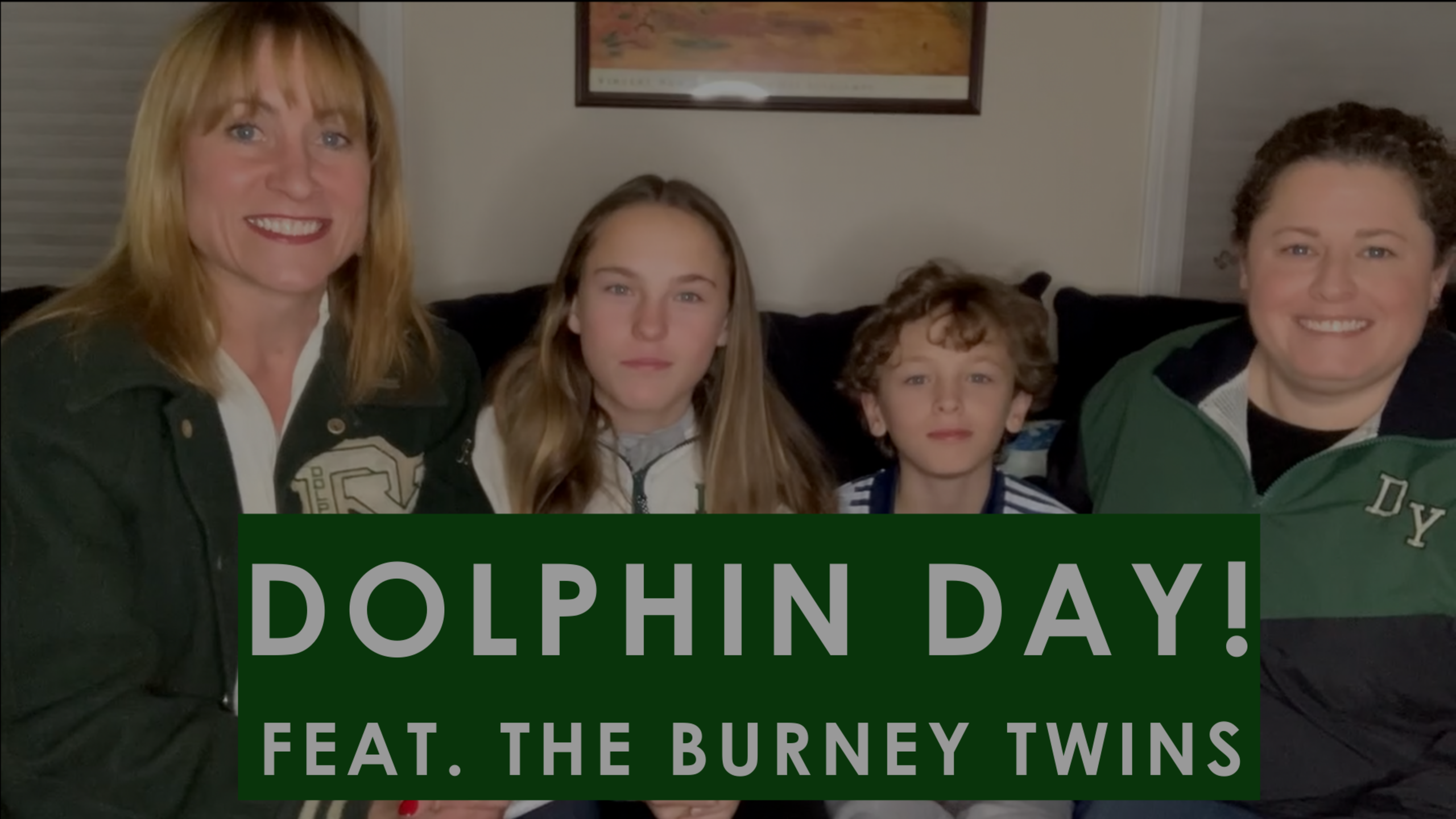 Episode 80: Dolphin Day (feat. the Burney Twins!)
