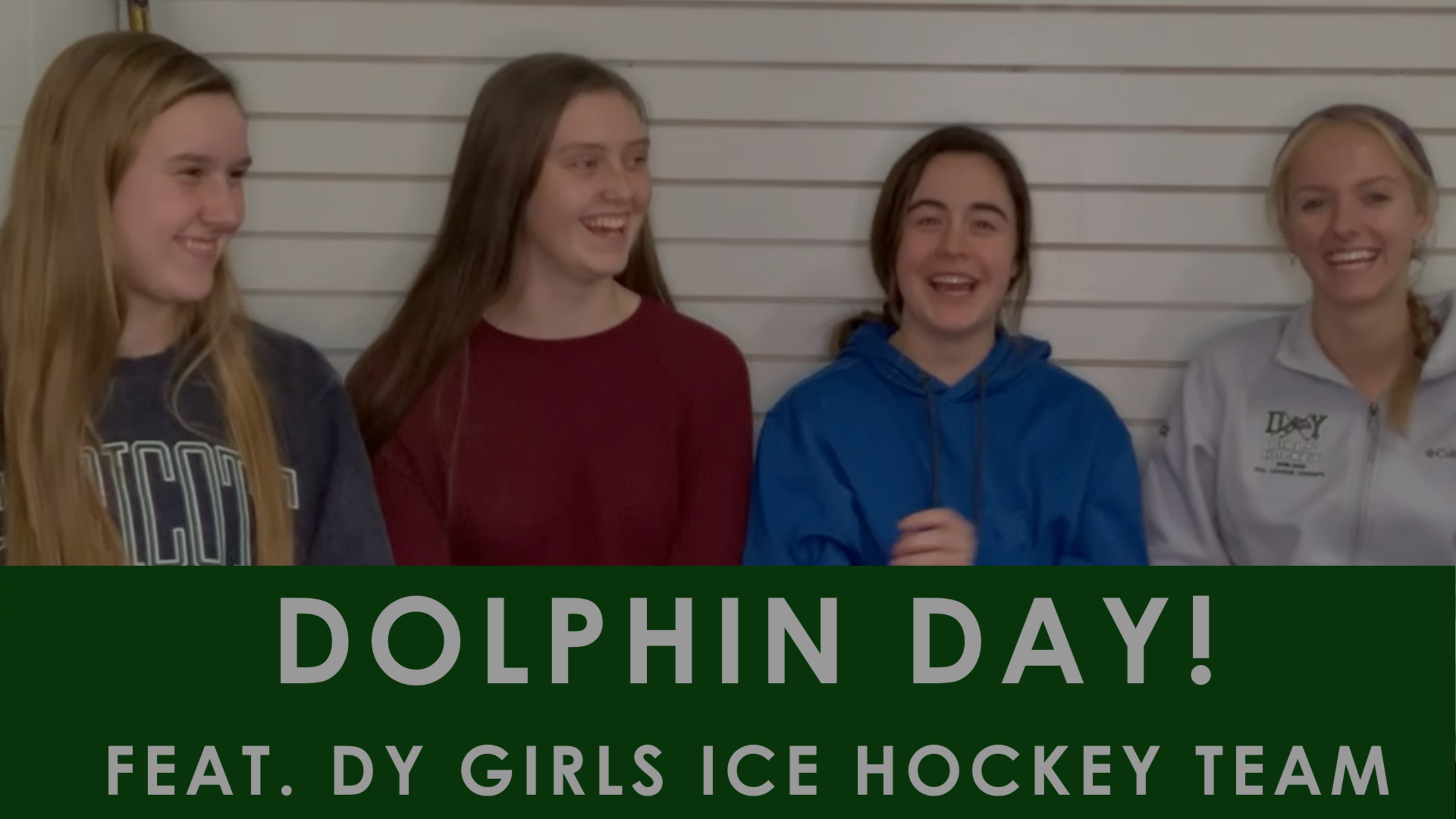Episode 85: Dolphin Day (feat. Captains of the DY Girls Hockey Team)
