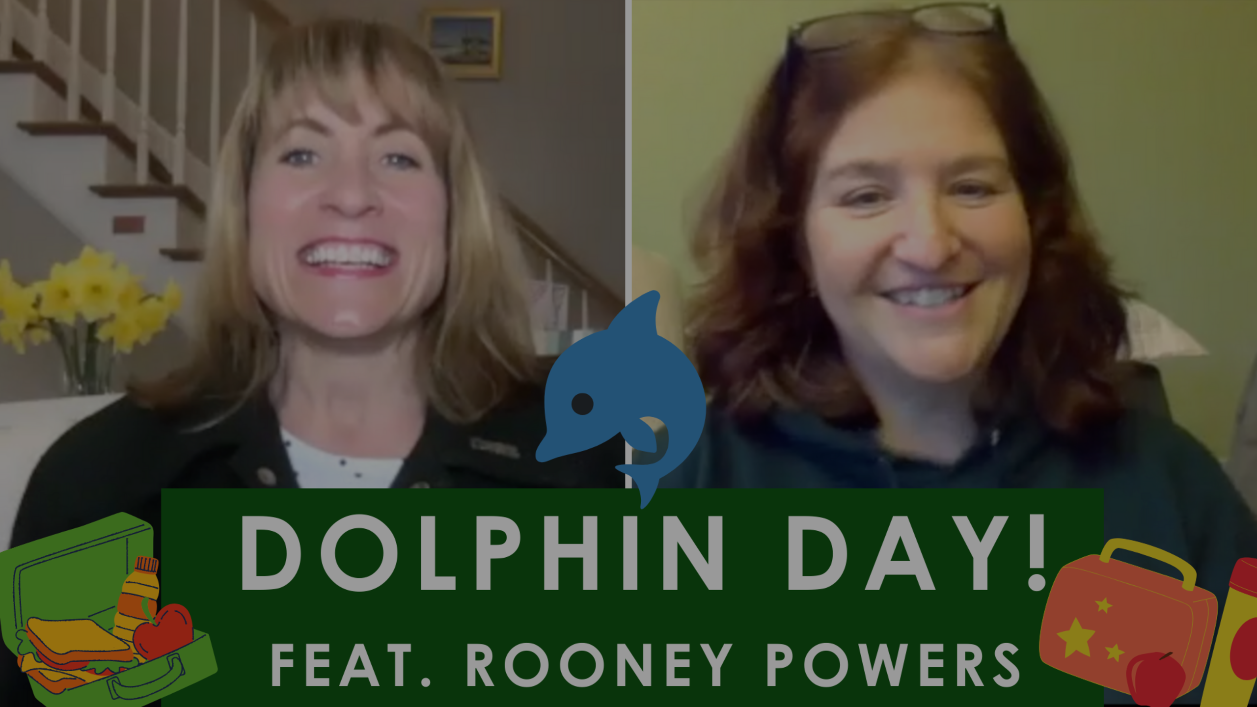 Episode 87: Dolphin Day! (feat. Rooney Powers, Food Services Director of DY)