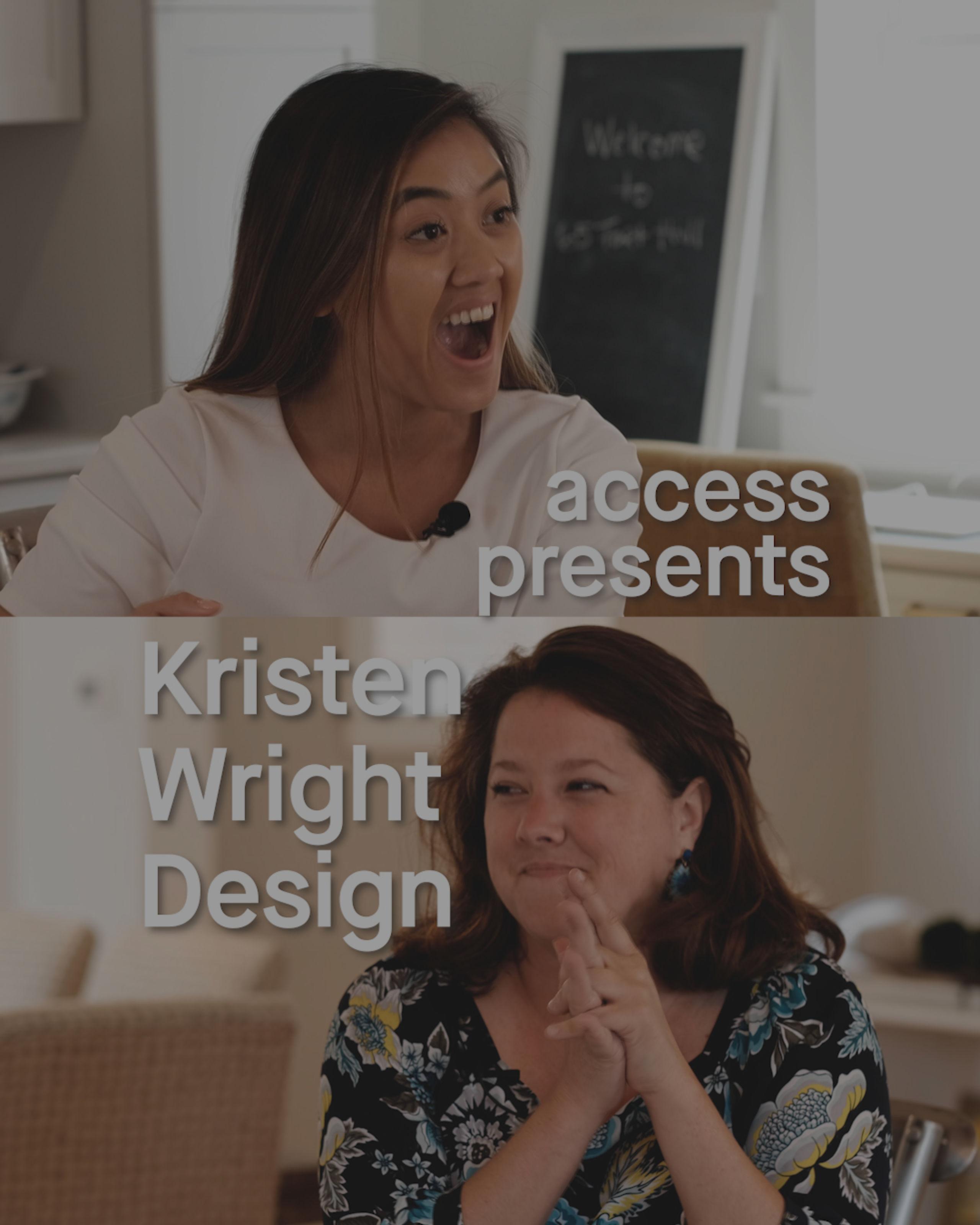 Kristen Wright Design Interview