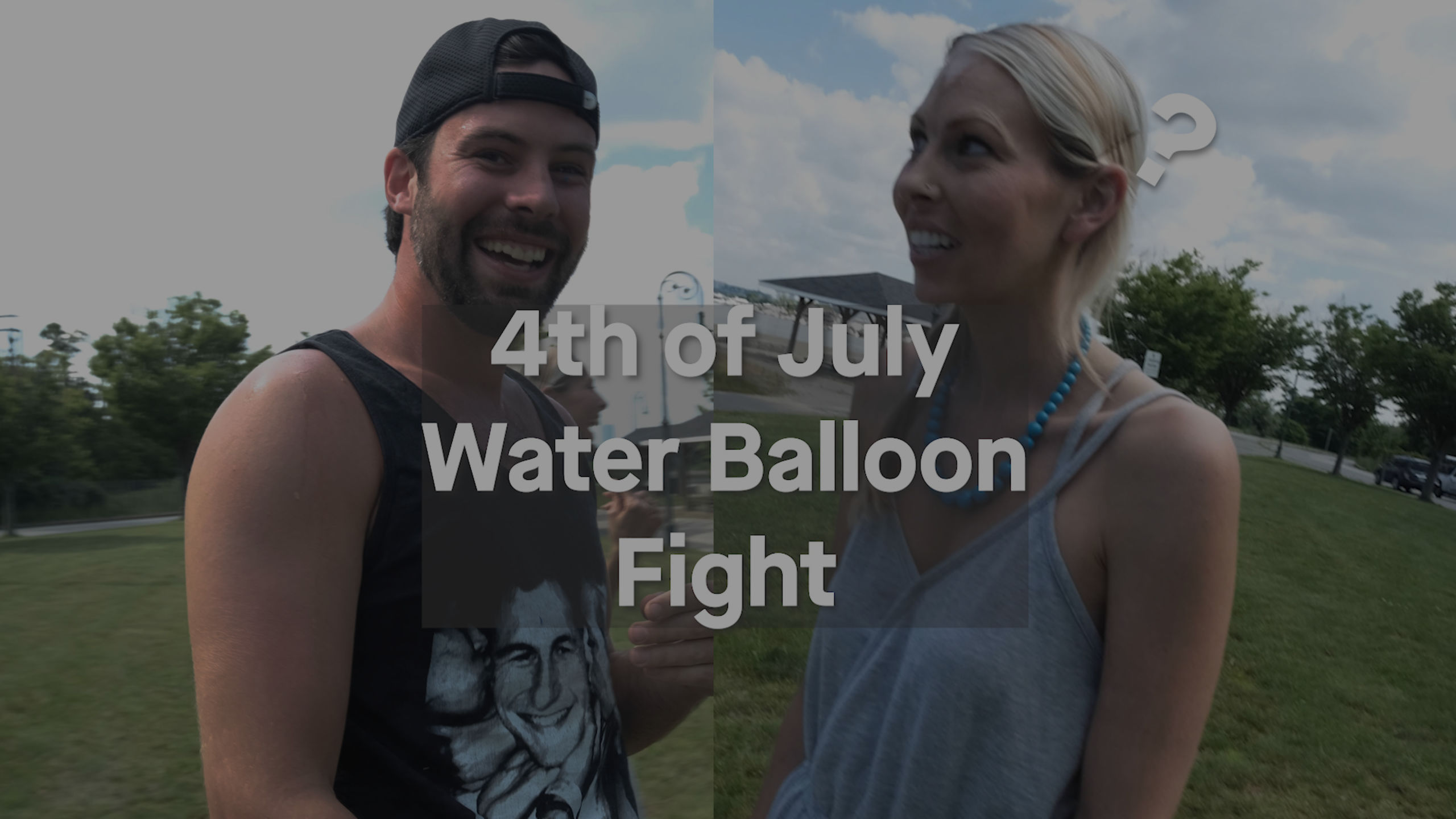 4th of July Water Balloon Fight