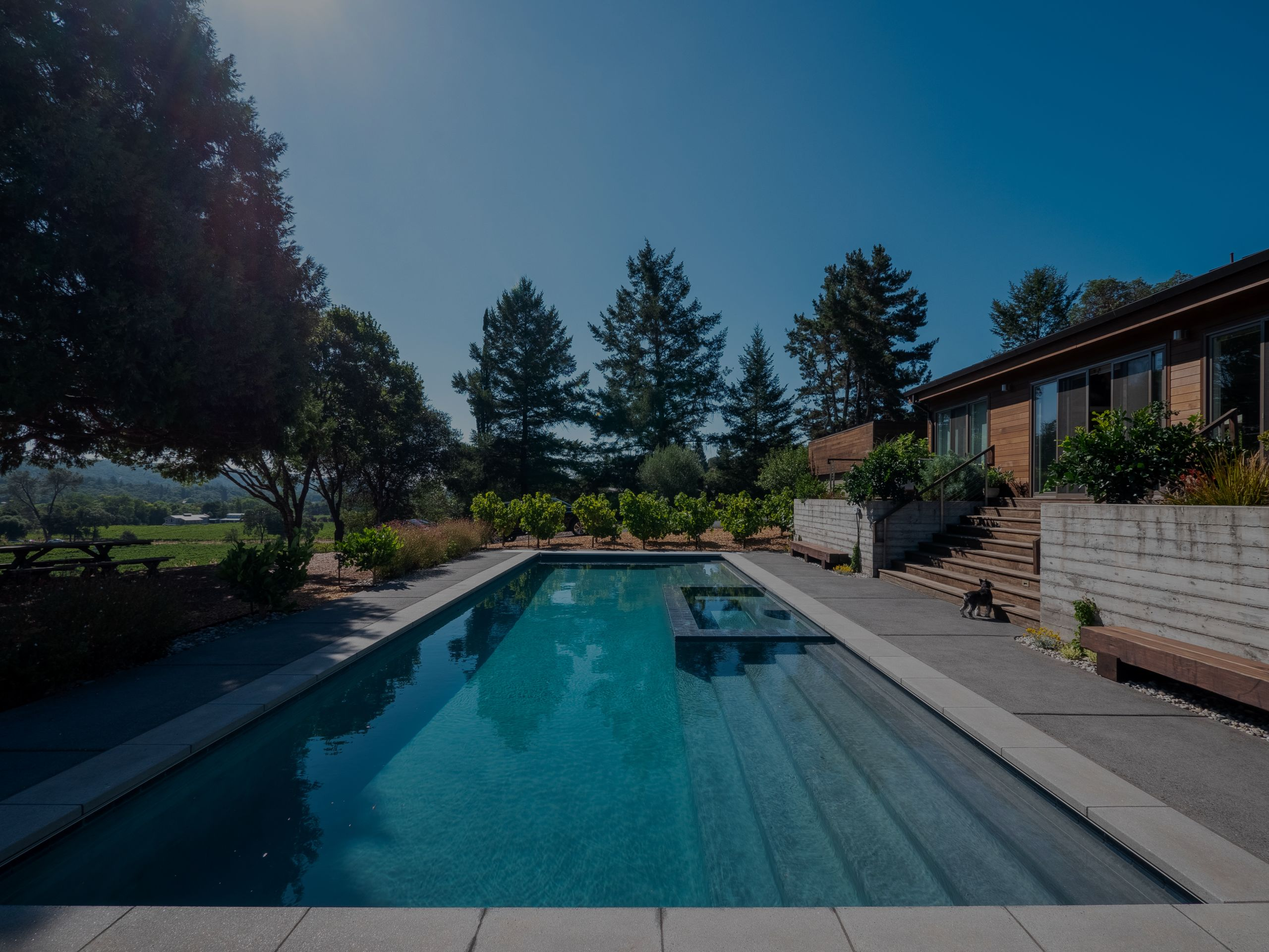 Work From Wine Country At These Two Stunning Rentals With Pools