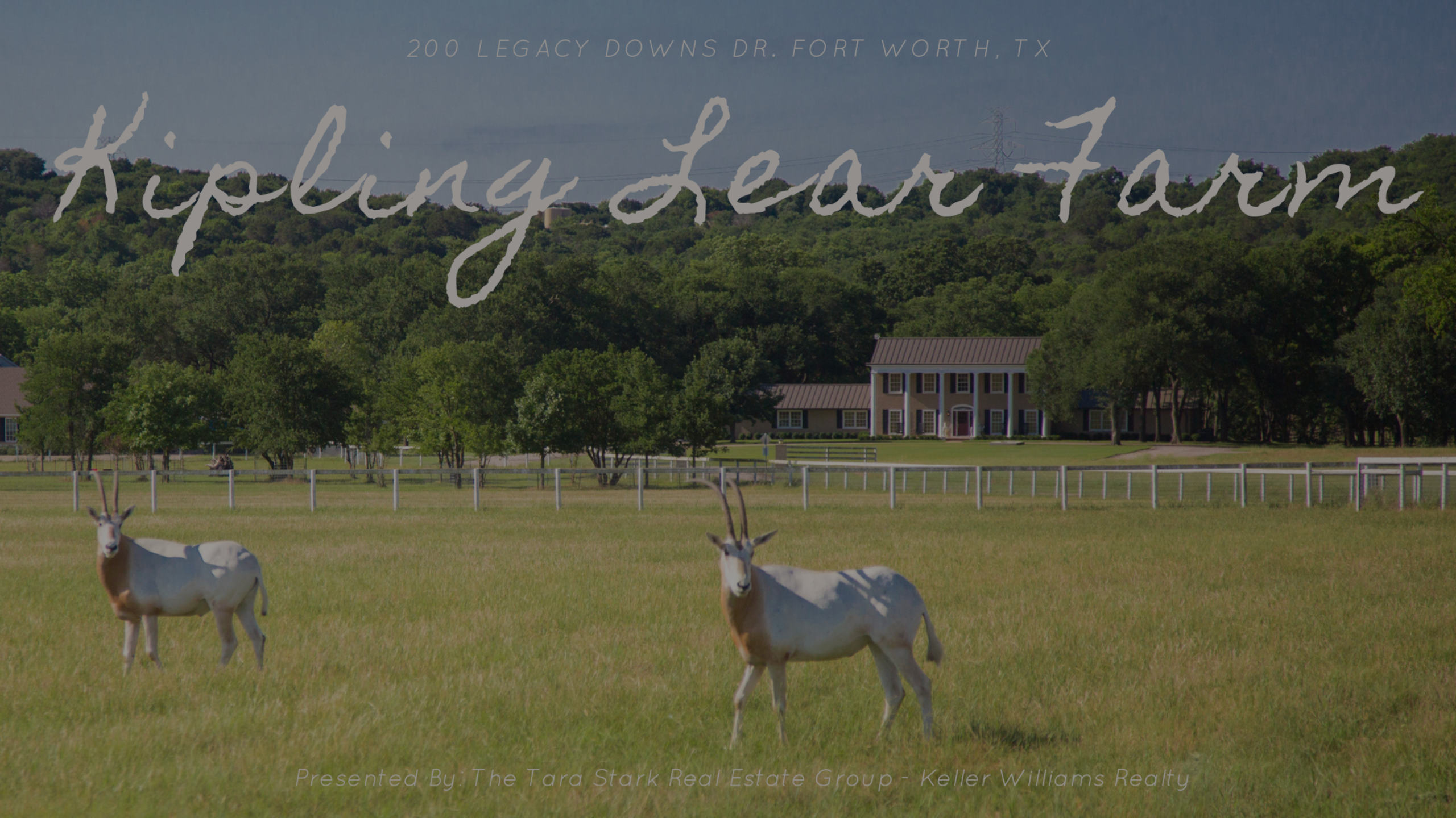 The Luxurious Equestrian Estate of Kipling Lear Farm – Fort Worth, TX