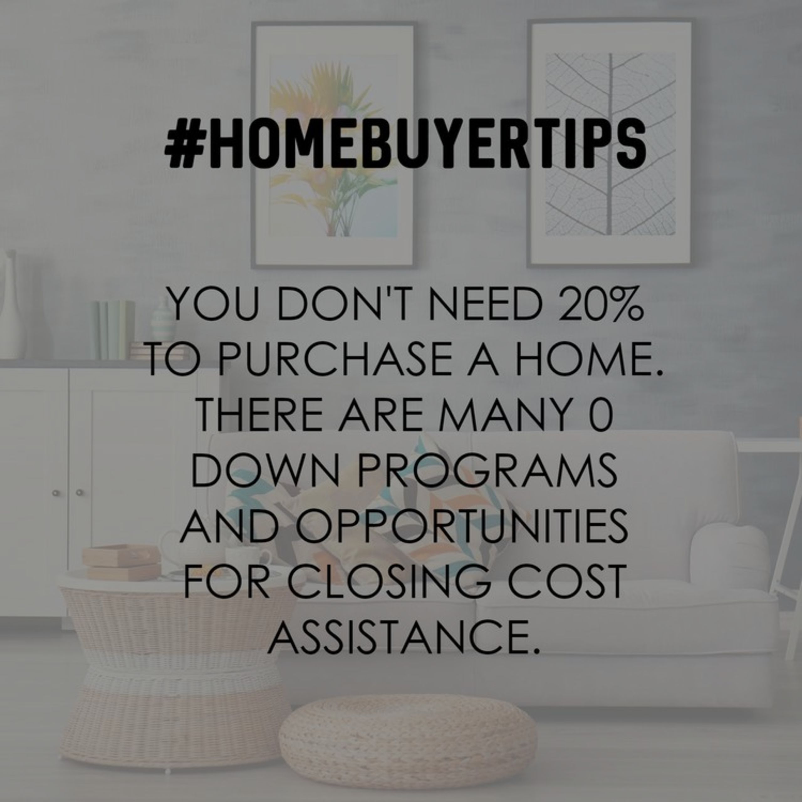 Get Pre Approved for a loan so you don't lose the home of your dreams.